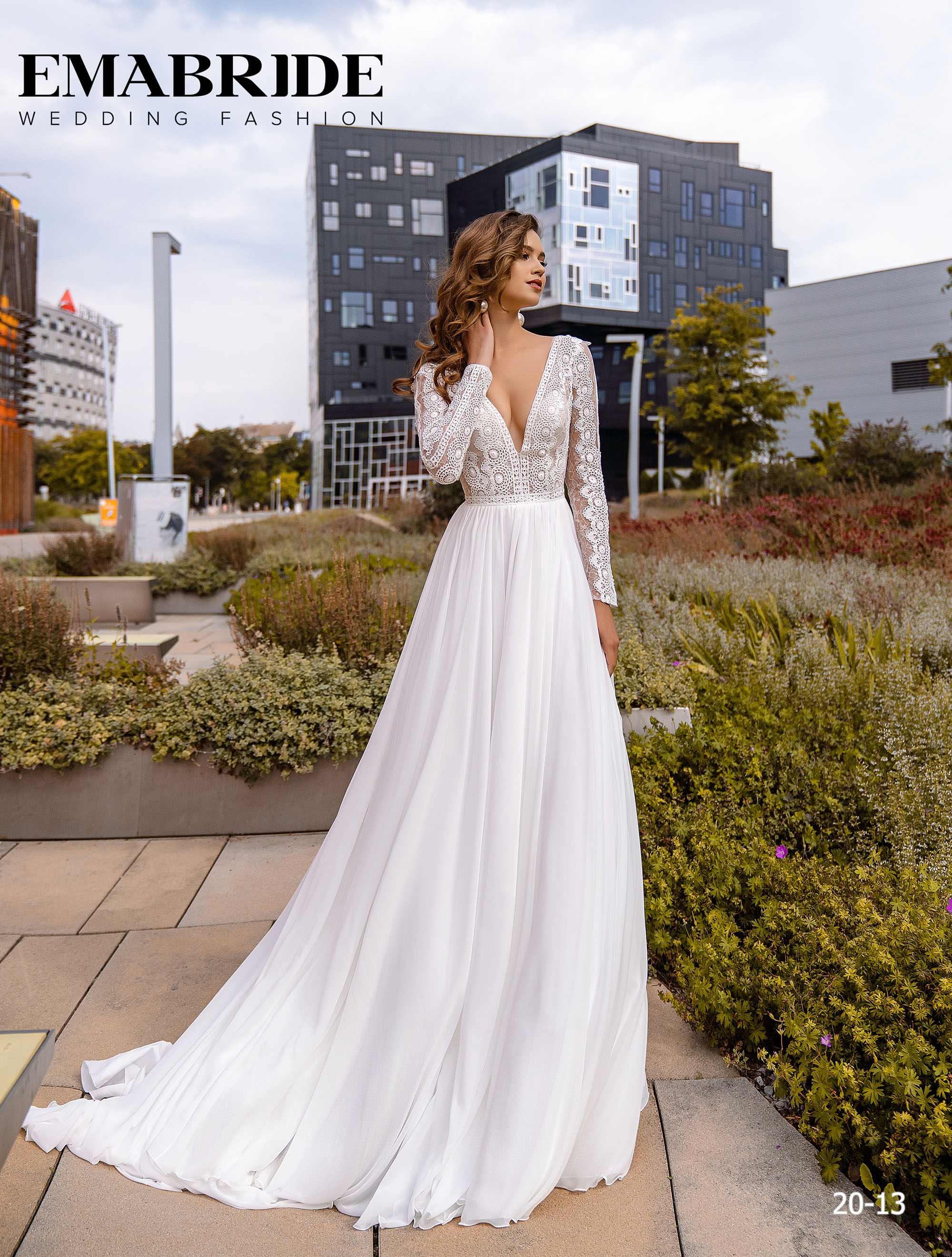 Model 20-13 | Buy wedding dresses wholesale by the ukrainian manufacturer Emabride-1