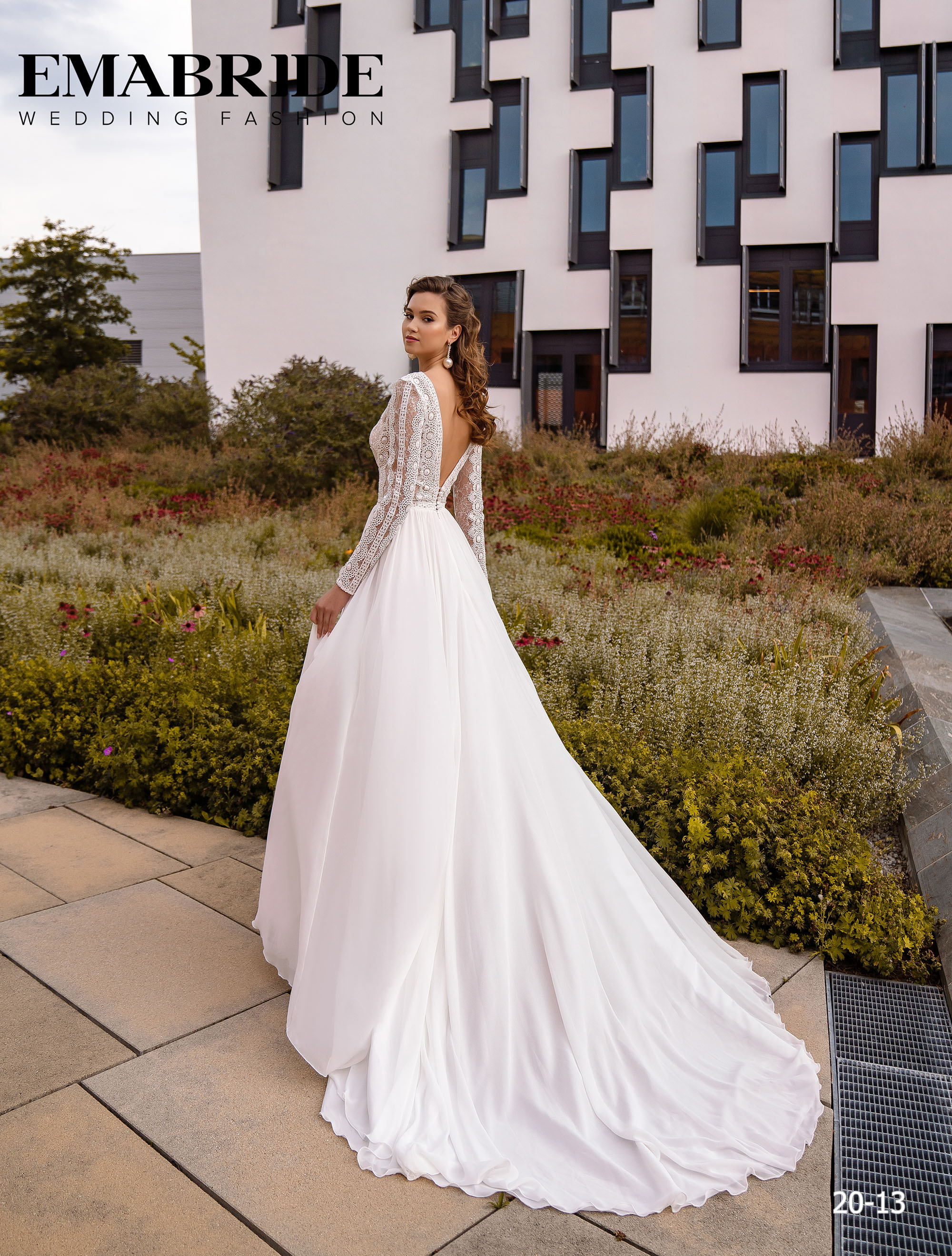 Model 20-13 | Buy wedding dresses wholesale by the ukrainian manufacturer Emabride-2