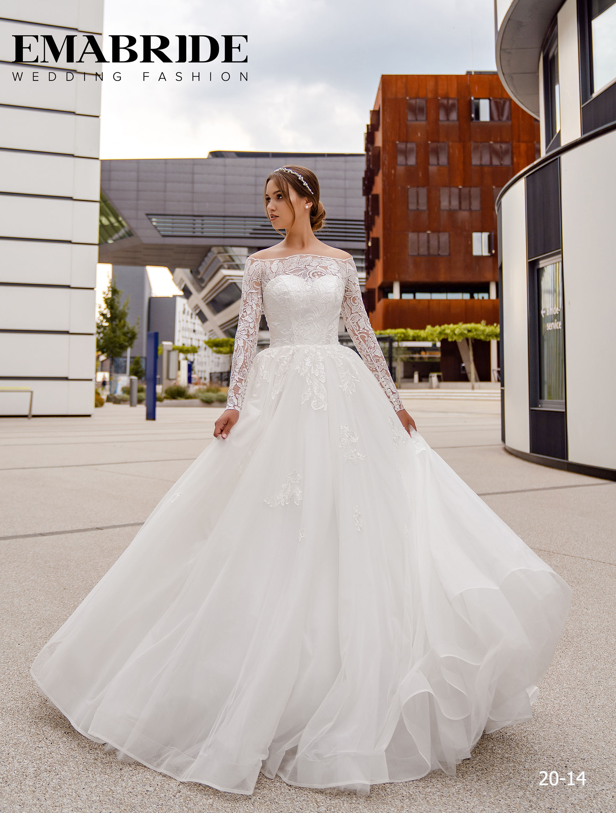 Model 20-14 | Buy wedding dresses wholesale by the ukrainian manufacturer Emabride