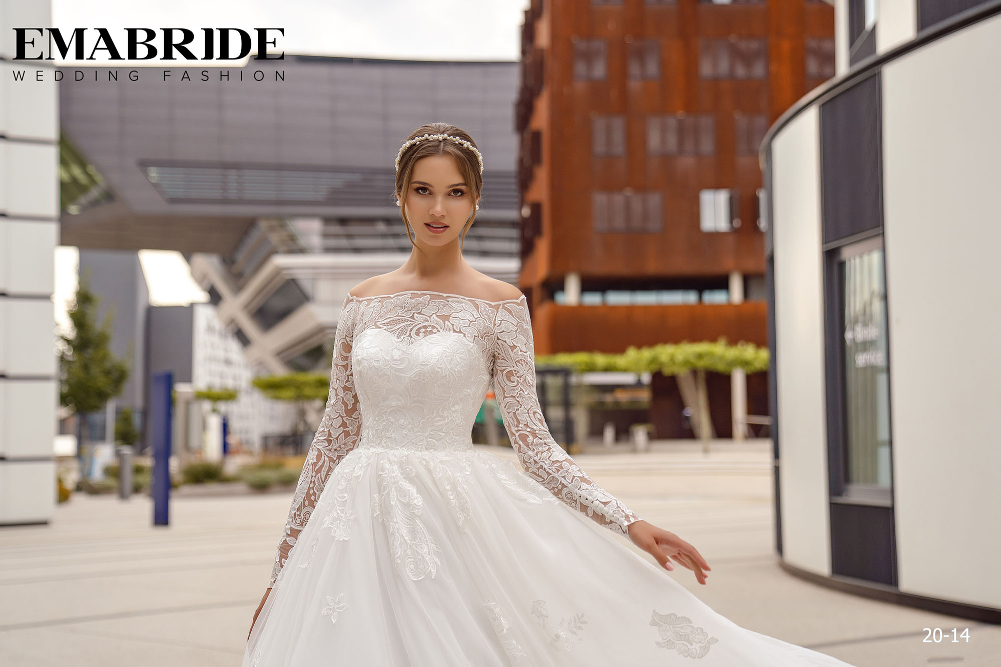Model 20-14 | Buy wedding dresses wholesale by the ukrainian manufacturer Emabride-1