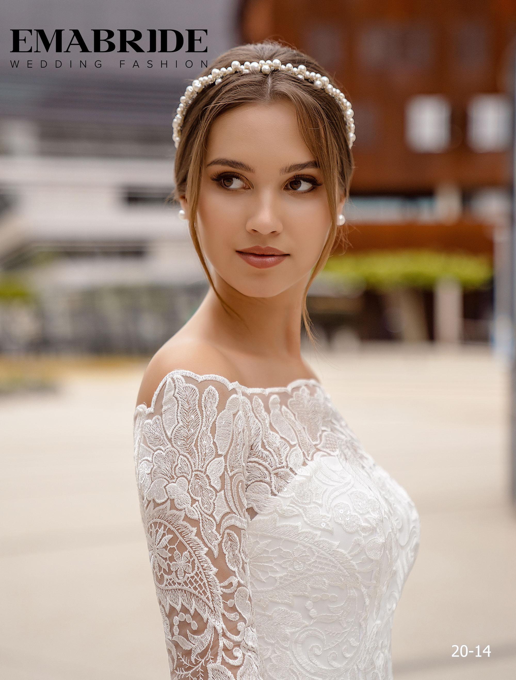 Model 20-14 | Buy wedding dresses wholesale by the ukrainian manufacturer Emabride-2