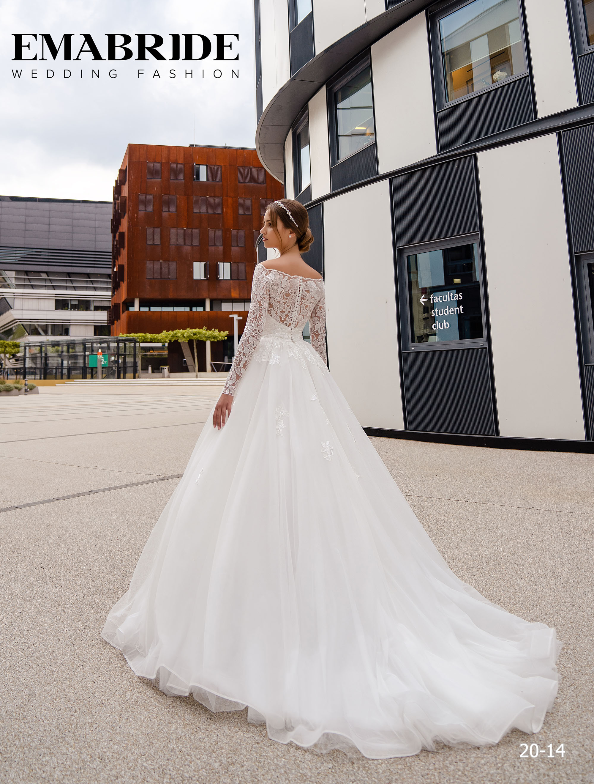 Model 20-14 | Buy wedding dresses wholesale by the ukrainian manufacturer Emabride-3
