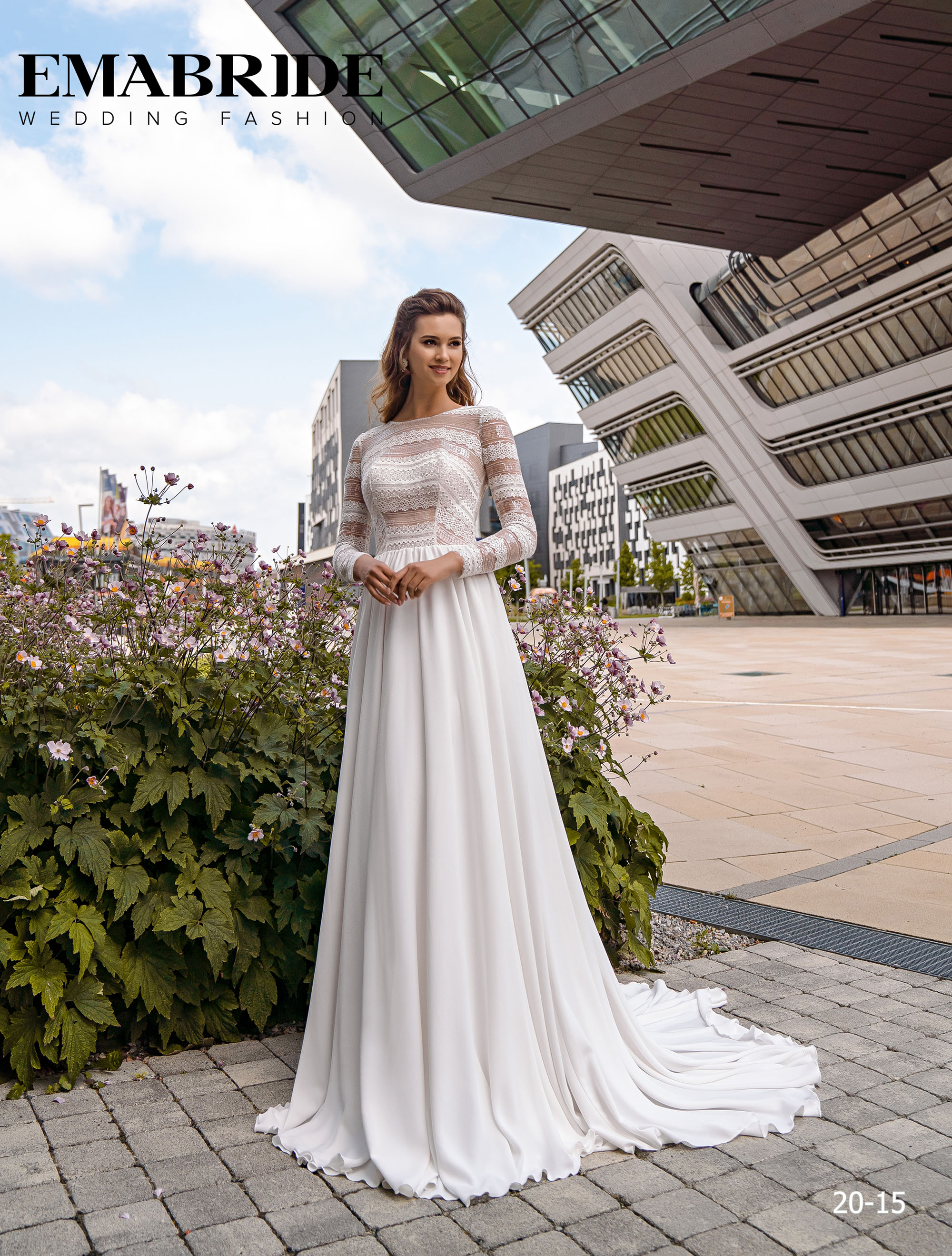 Model 20-15 | Buy wedding dresses wholesale by the ukrainian manufacturer Emabride