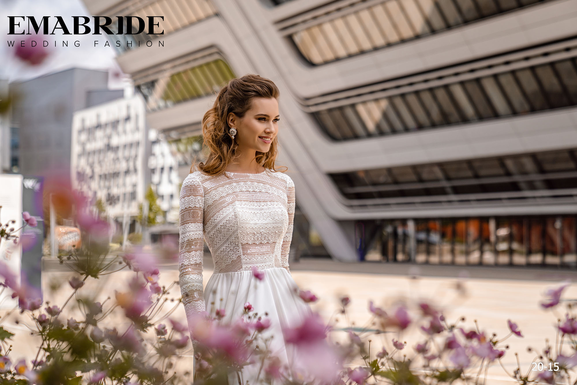 Model 20-15 | Buy wedding dresses wholesale by the ukrainian manufacturer Emabride-1