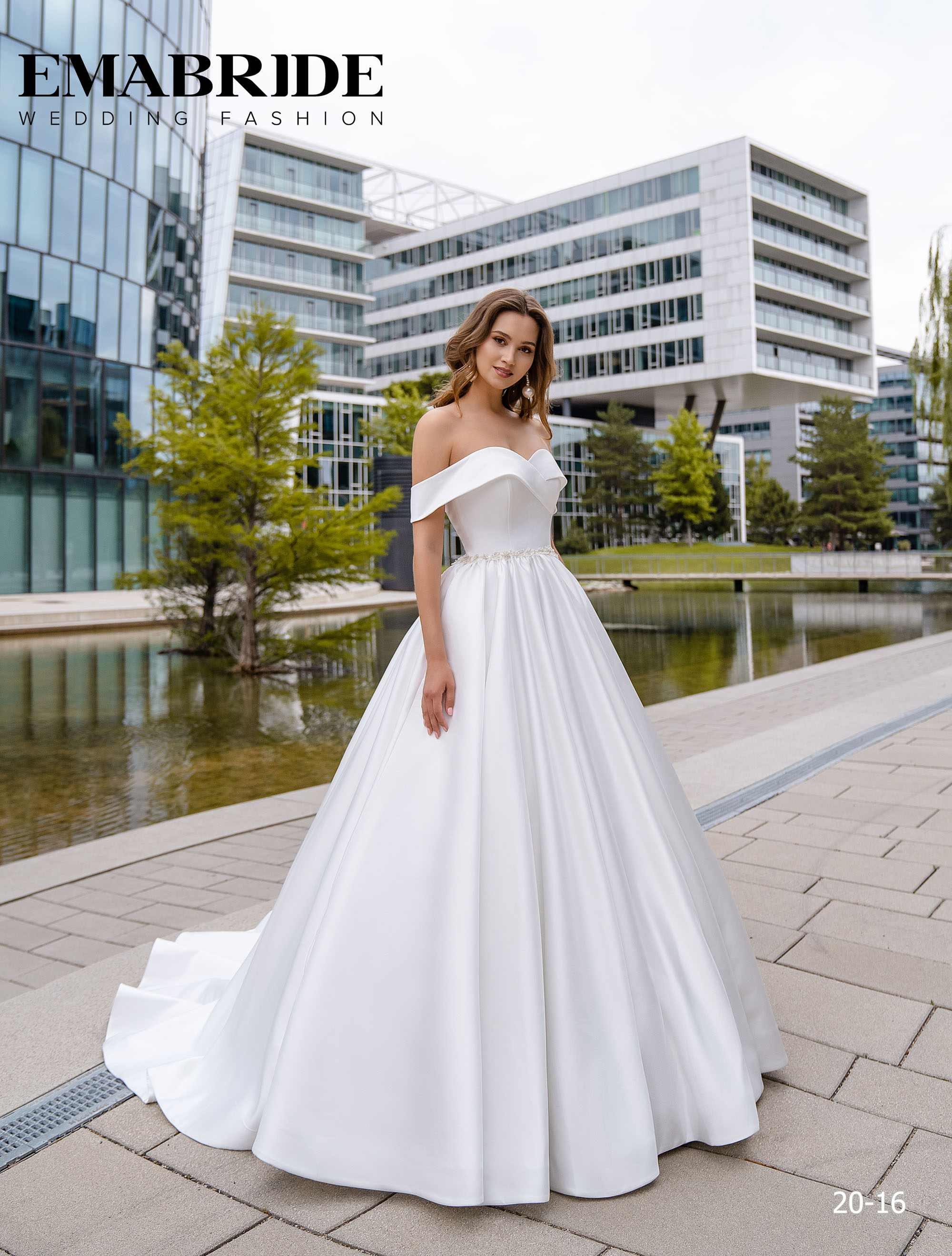 Model 20-16 | Buy wedding dresses wholesale by the ukrainian manufacturer Emabride