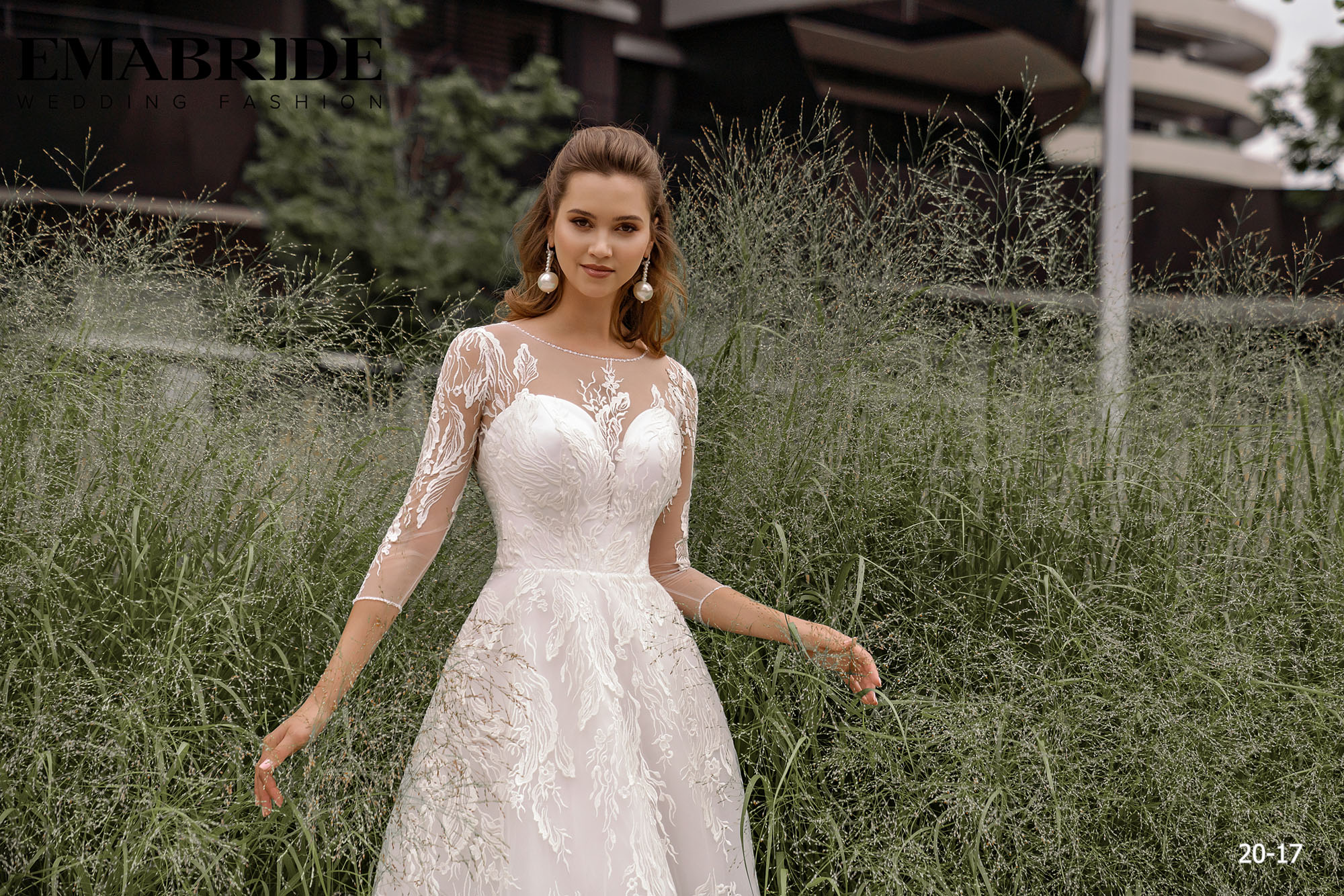 Model 20-17 | Buy wedding dresses wholesale by the ukrainian manufacturer Emabride-1