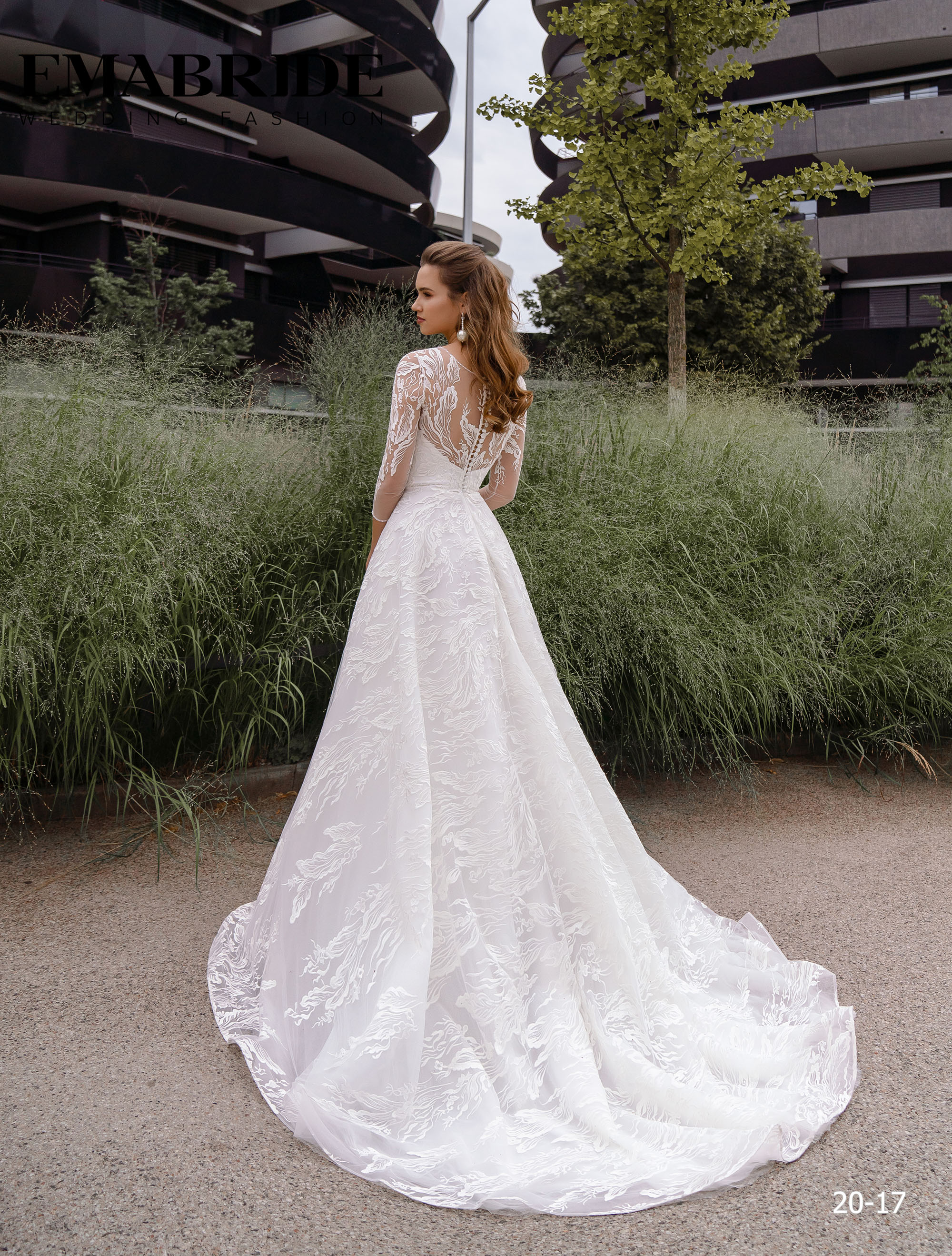Model 20-17 | Buy wedding dresses wholesale by the ukrainian manufacturer Emabride-3