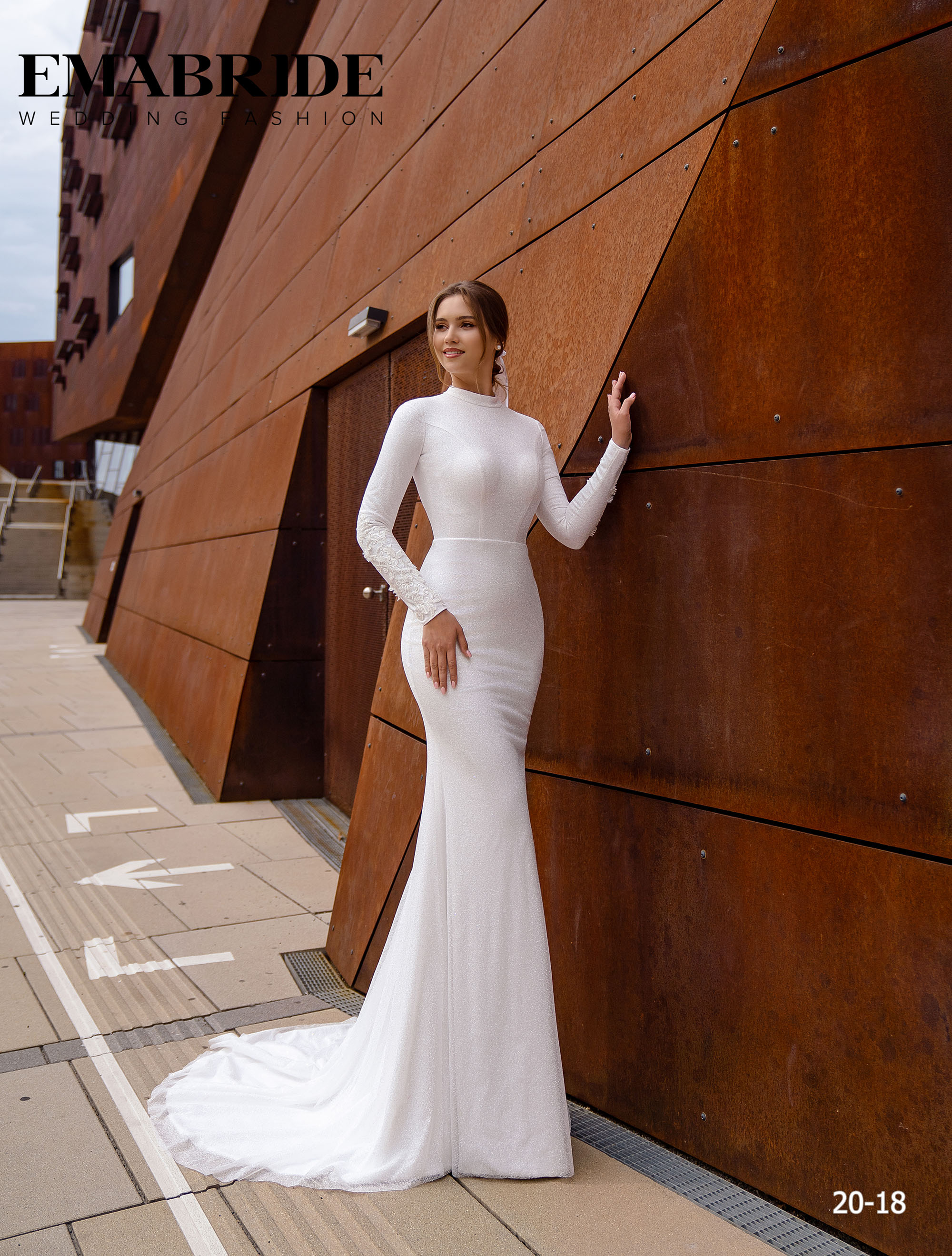 Model 20-18 | Buy wedding dresses wholesale by the ukrainian manufacturer Emabride-1