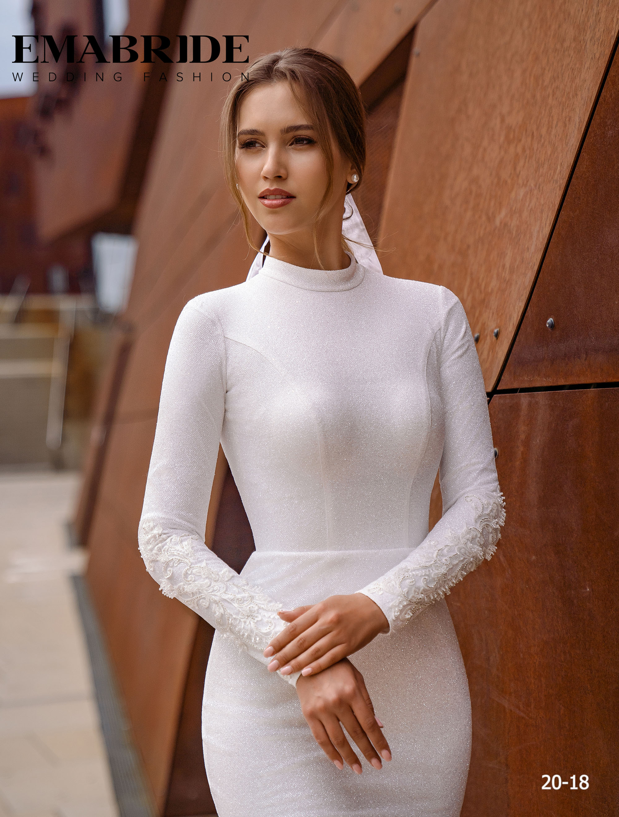 Model 20-18 | Buy wedding dresses wholesale by the ukrainian manufacturer Emabride-2