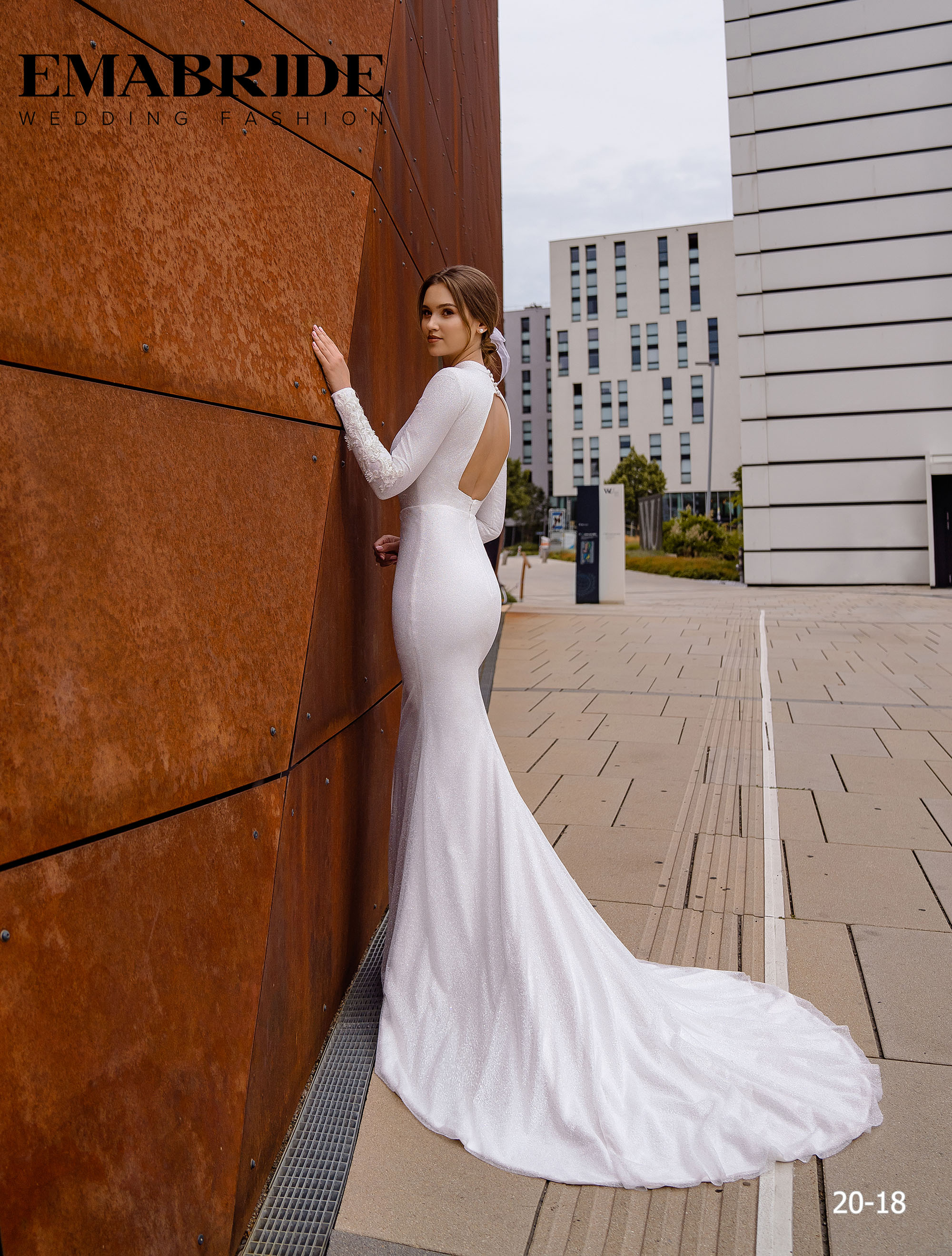 Model 20-18 | Buy wedding dresses wholesale by the ukrainian manufacturer Emabride-4
