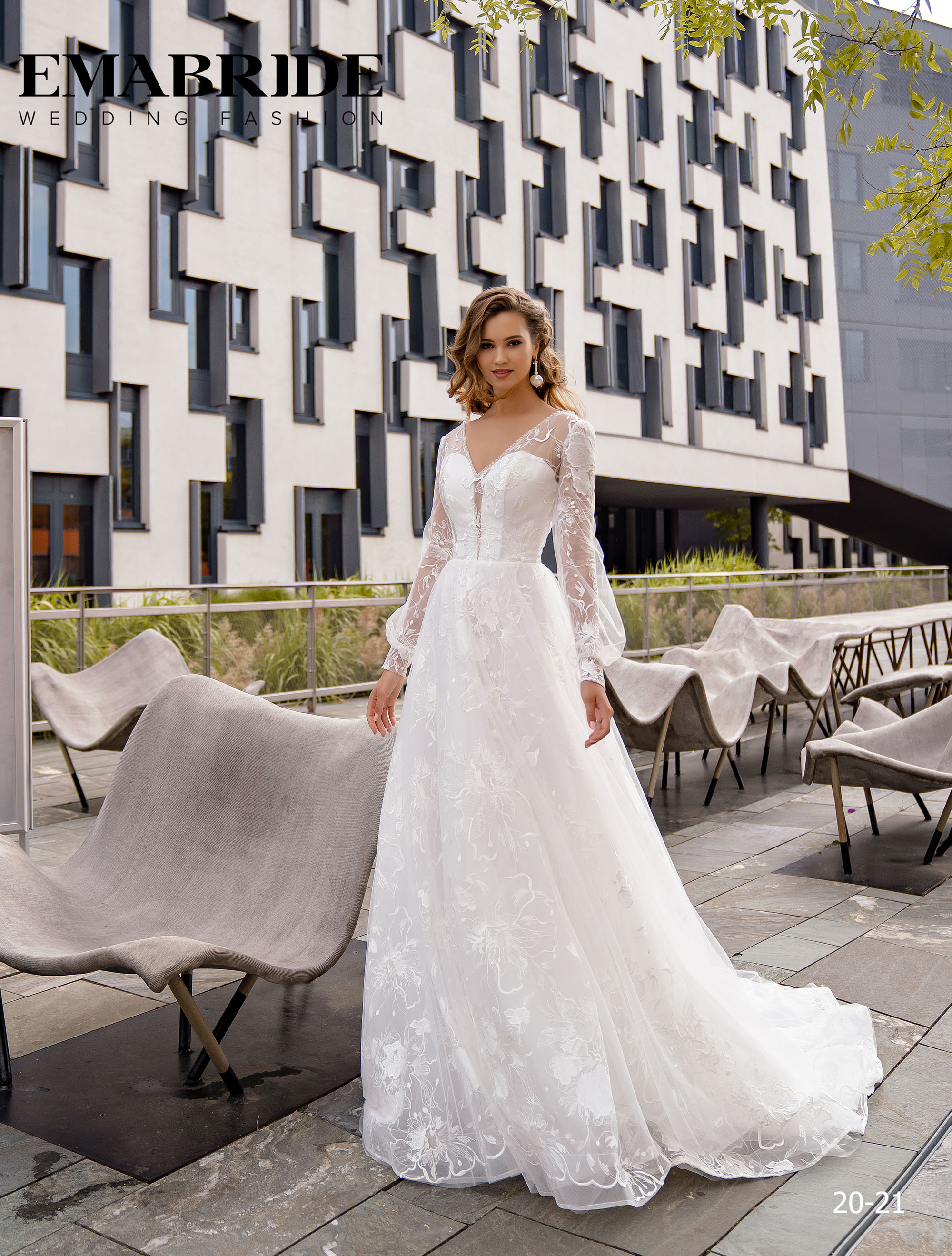 Model 20-21 | Buy wedding dresses wholesale by the ukrainian manufacturer Emabride