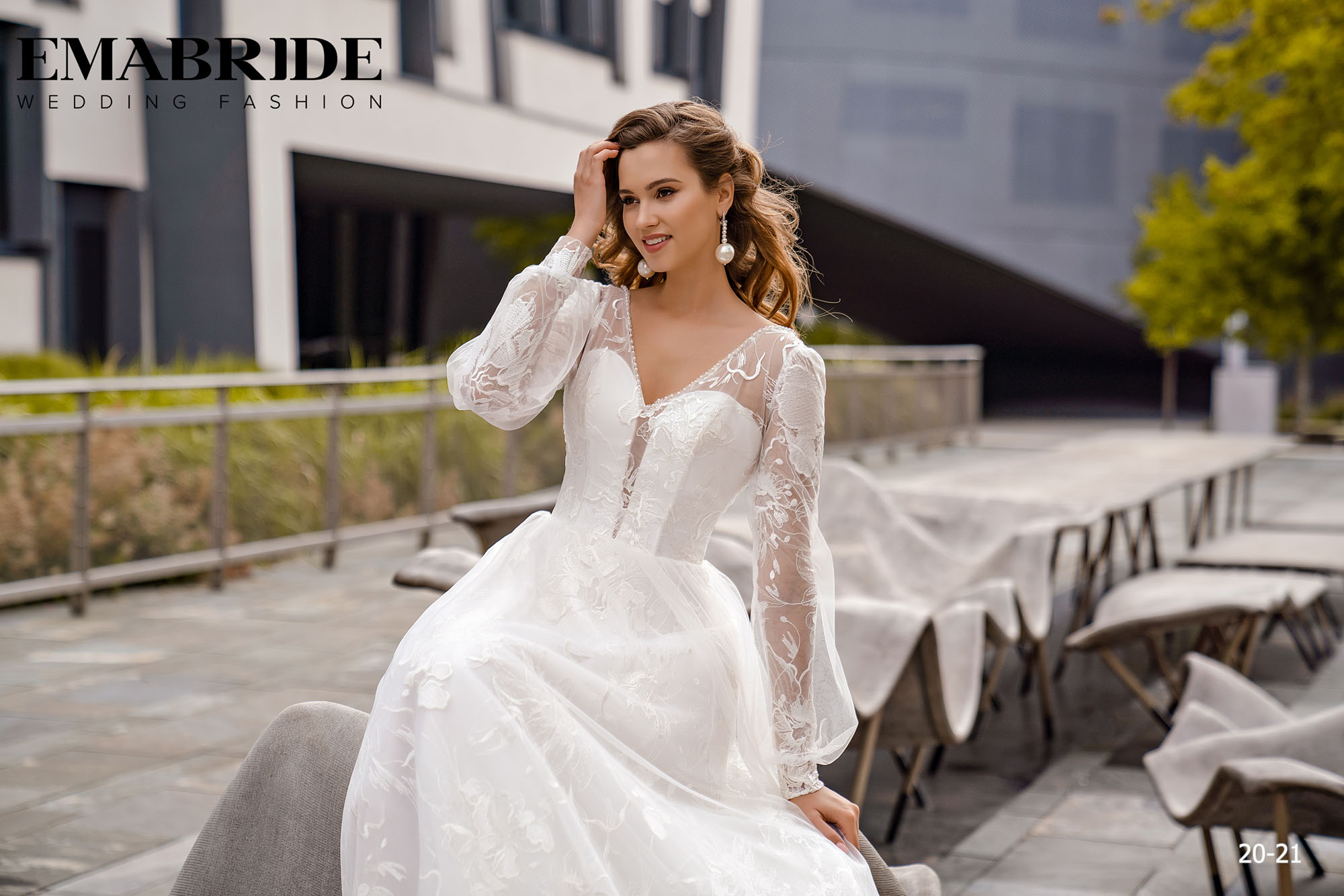 Model 20-21 | Buy wedding dresses wholesale by the ukrainian manufacturer Emabride-1