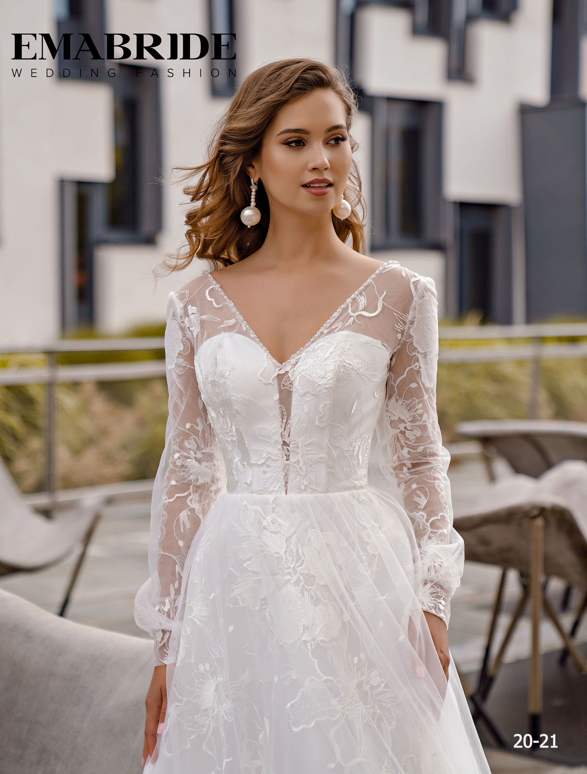 Model 20-21 | Buy wedding dresses wholesale by the ukrainian manufacturer Emabride-2