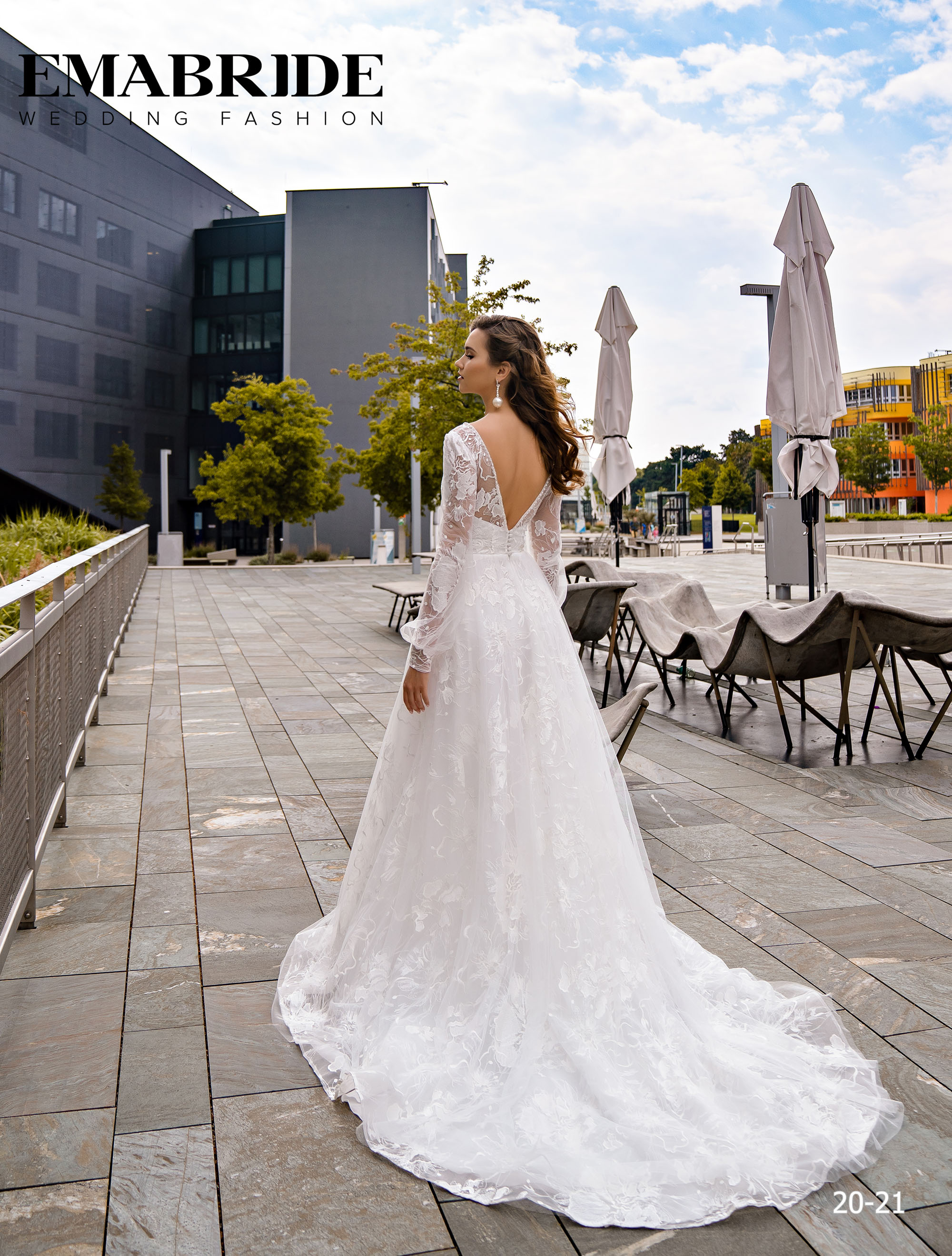 Model 20-21 | Buy wedding dresses wholesale by the ukrainian manufacturer Emabride-3