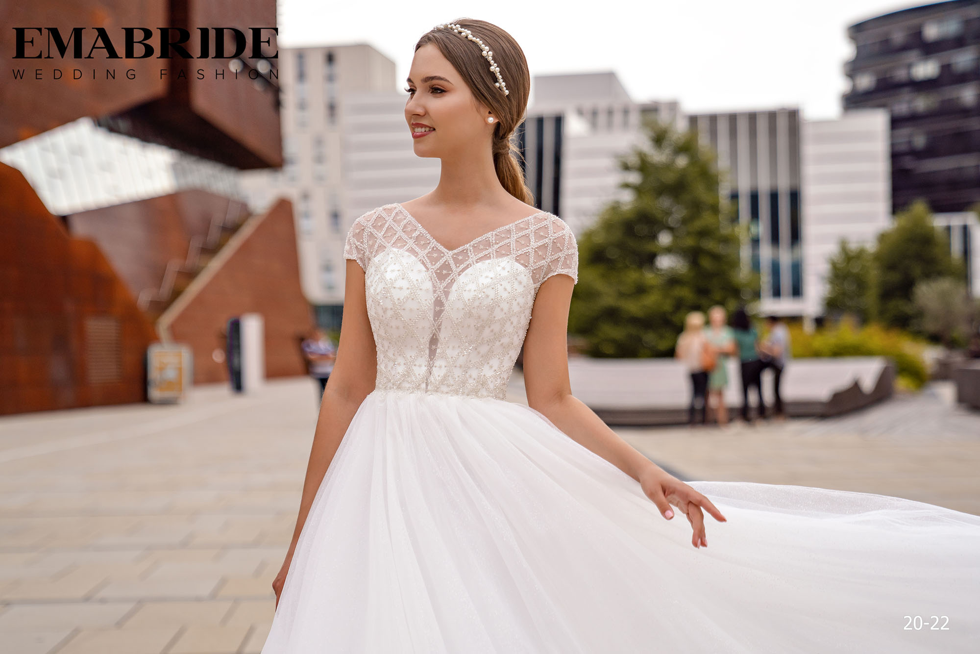 Model 20-22 | Buy wedding dresses wholesale by the ukrainian manufacturer Emabride-1
