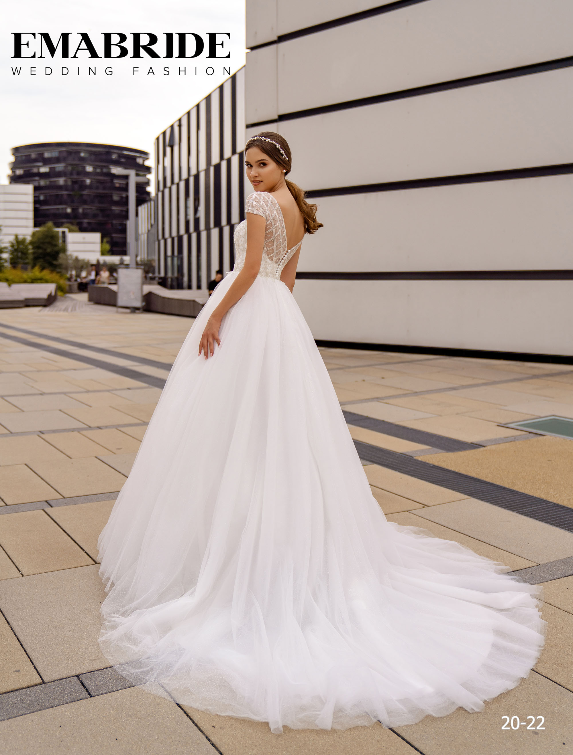 Model 20-22 | Buy wedding dresses wholesale by the ukrainian manufacturer Emabride-2