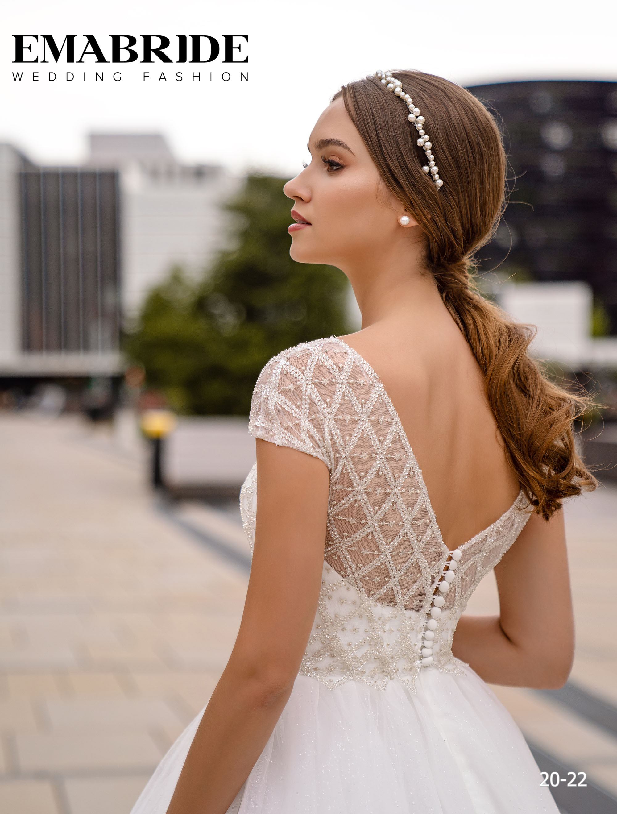 Model 20-22 | Buy wedding dresses wholesale by the ukrainian manufacturer Emabride-3