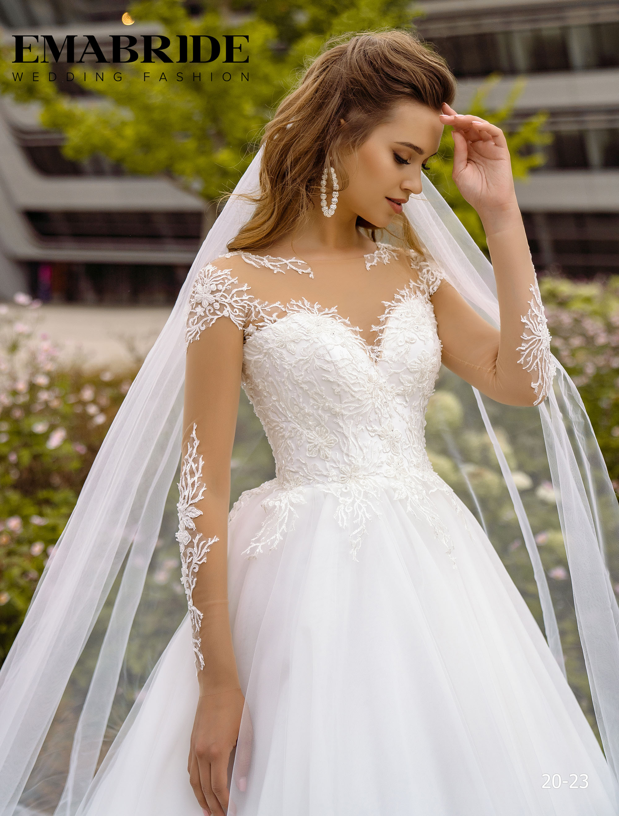 Model 20-23 | Buy wedding dresses wholesale by the ukrainian manufacturer Emabride-1