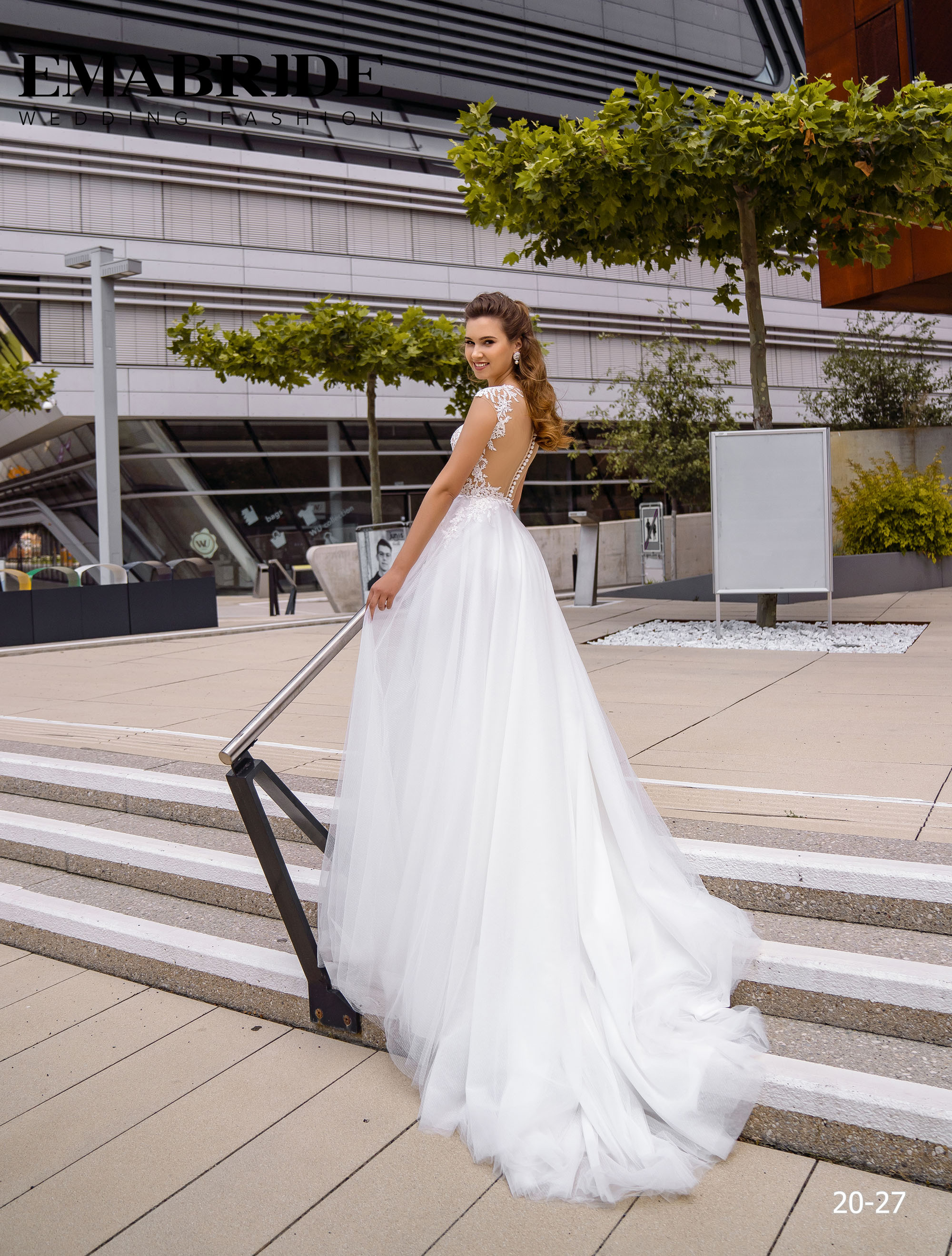 Model 20-27 | Buy wedding dresses wholesale by the ukrainian manufacturer Emabride-2