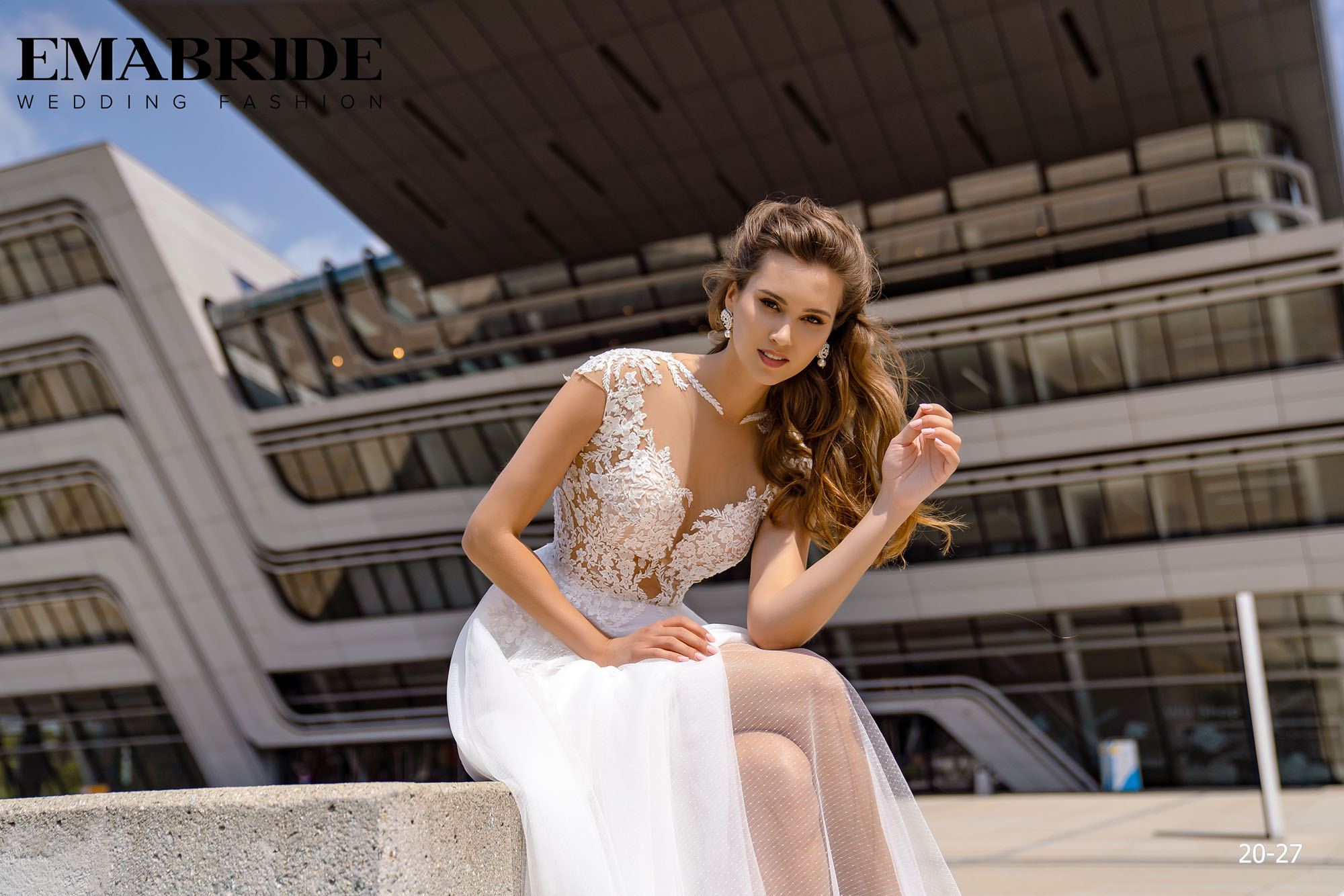 Model 20-27 | Buy wedding dresses wholesale by the ukrainian manufacturer Emabride-3