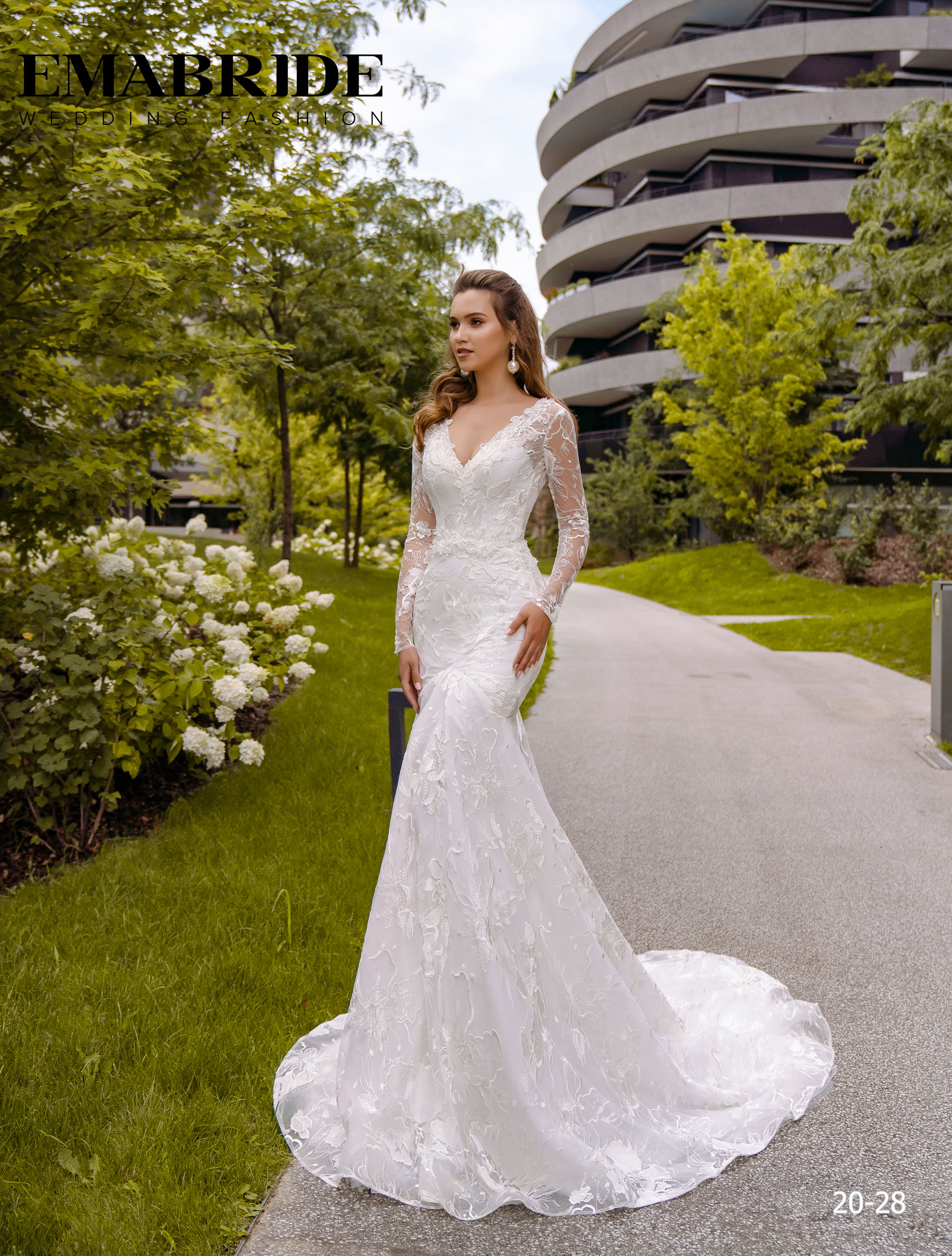 Model 20-28 | Buy wedding dresses wholesale by the ukrainian manufacturer Emabride