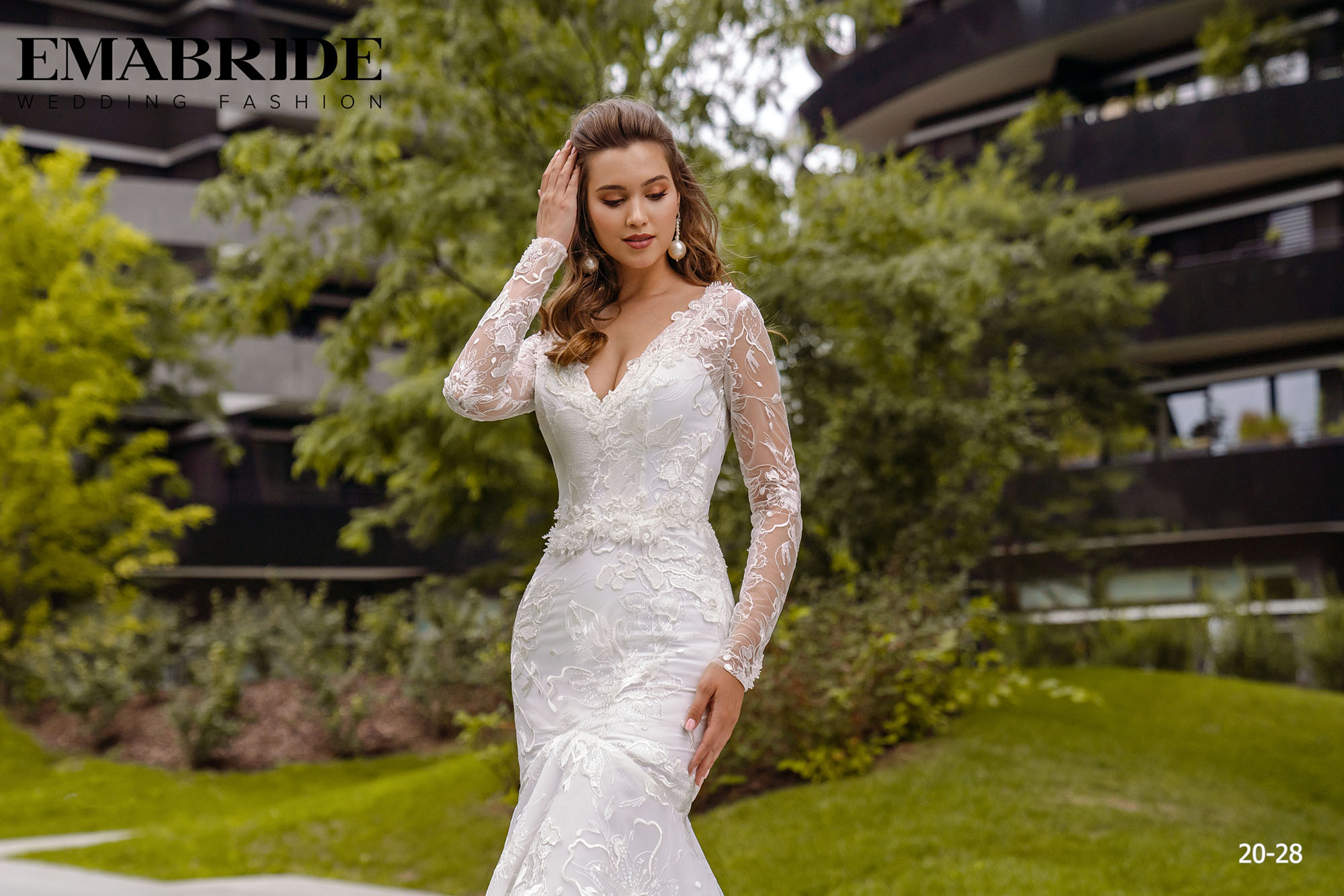 Model 20-28 | Buy wedding dresses wholesale by the ukrainian manufacturer Emabride-1