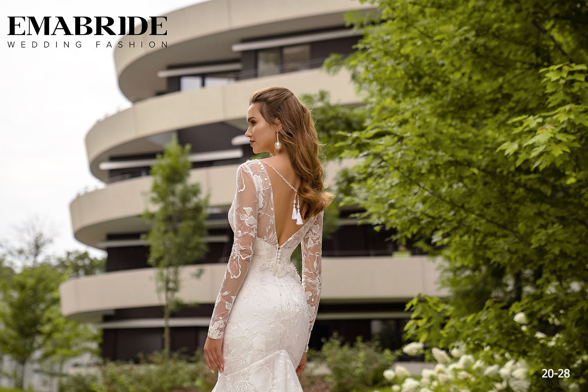 Model 20-28 | Buy wedding dresses wholesale by the ukrainian manufacturer Emabride-3