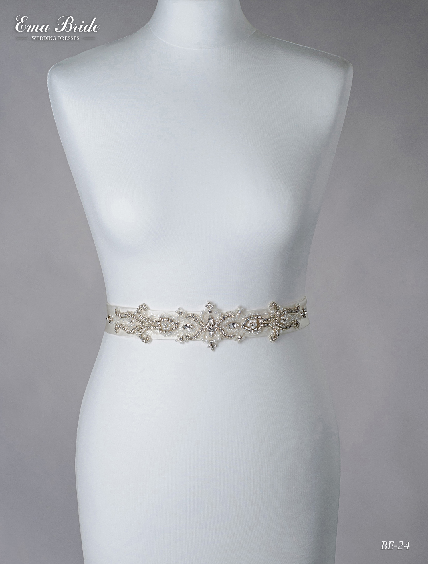 A belt for a wedding dress Be-24