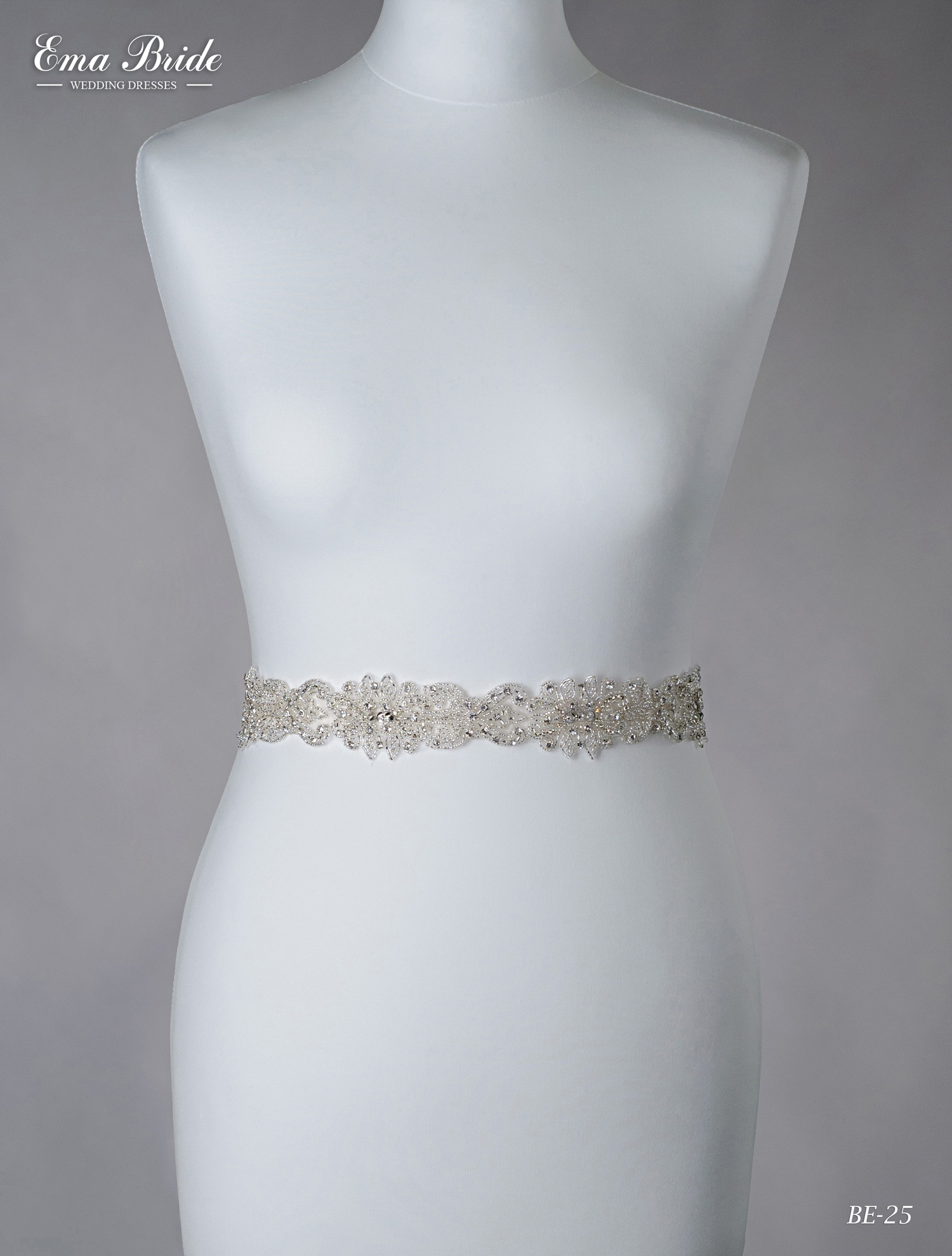 A belt for a wedding dress Be-25