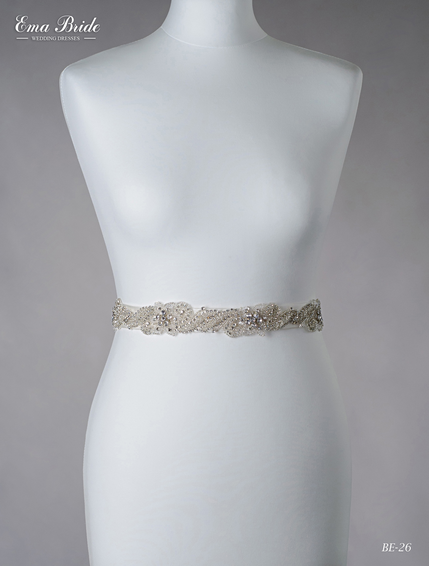 A belt for a wedding dress Be-26