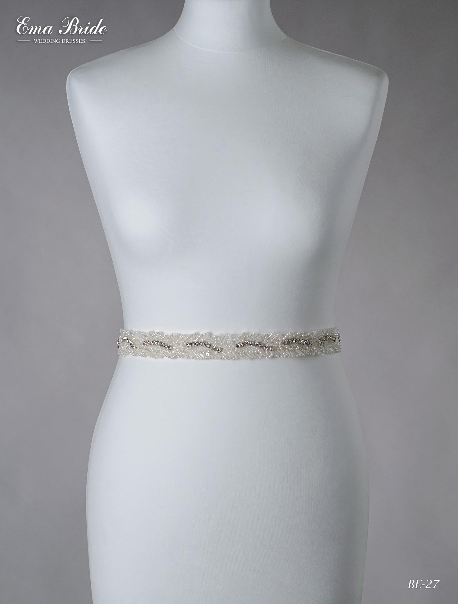 A belt for a wedding dress Be-27
