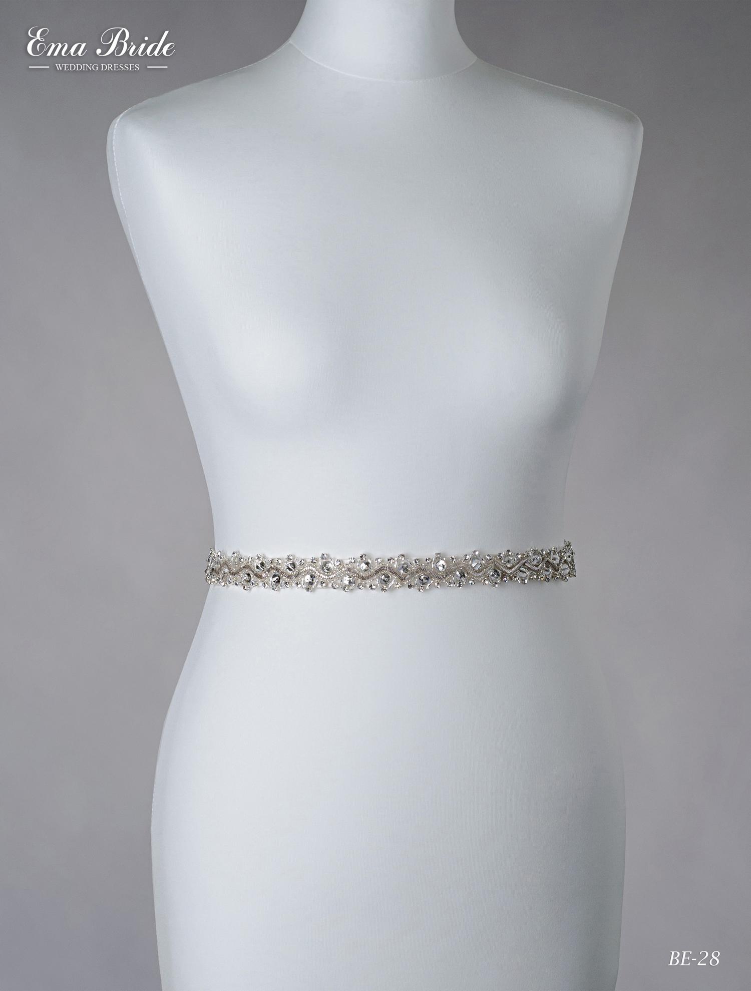 A belt for a wedding dress Be-28