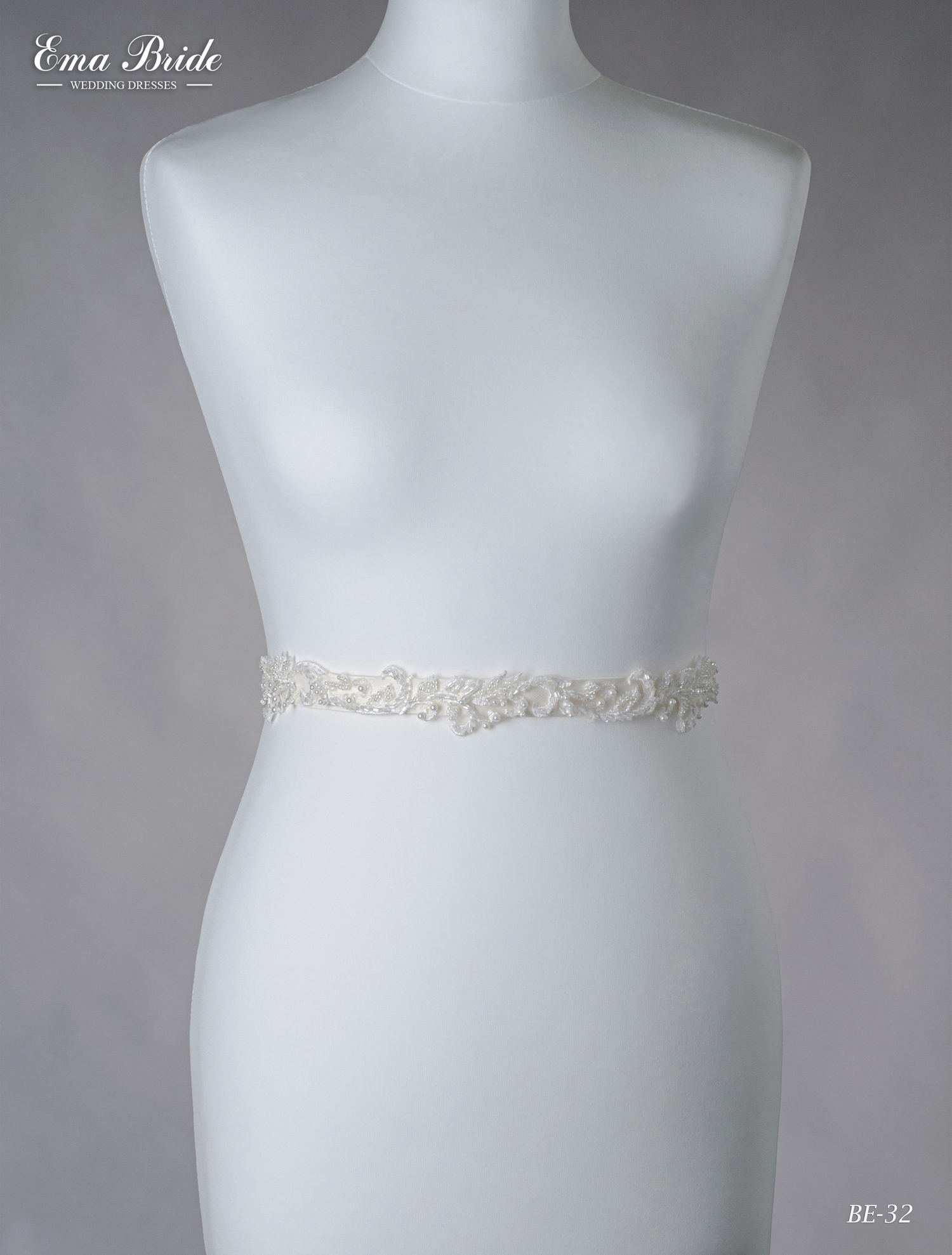 A belt for a wedding dress Be-32