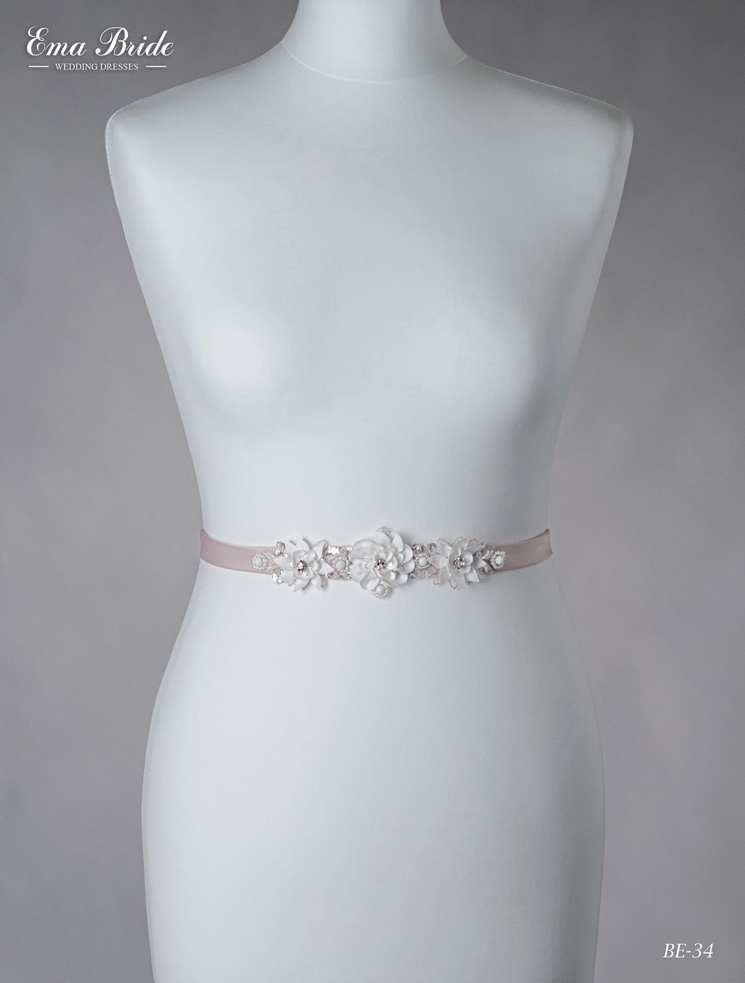 A belt for a wedding dress Be-34
