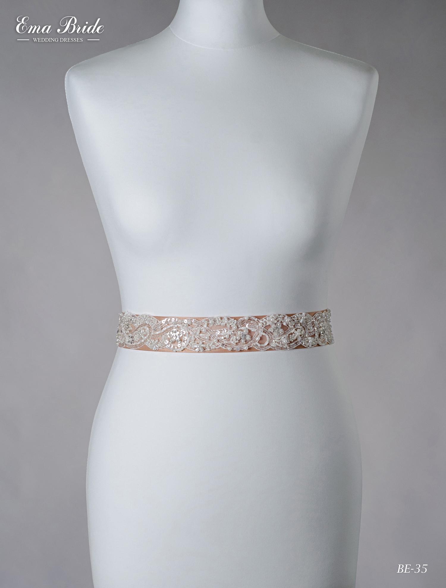 Brâuleț pentru rochie de mireasă Be-35