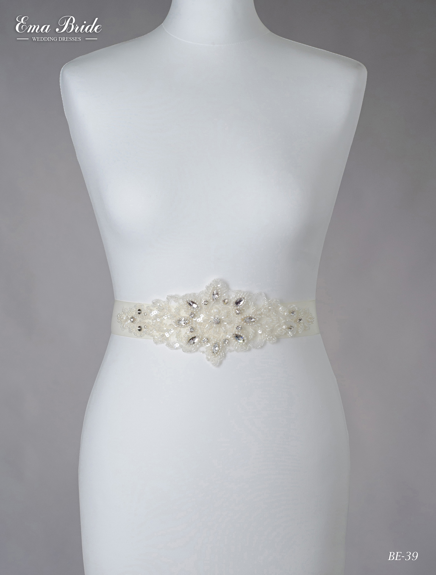 Brâuleț pentru rochie de mireasă Be-39