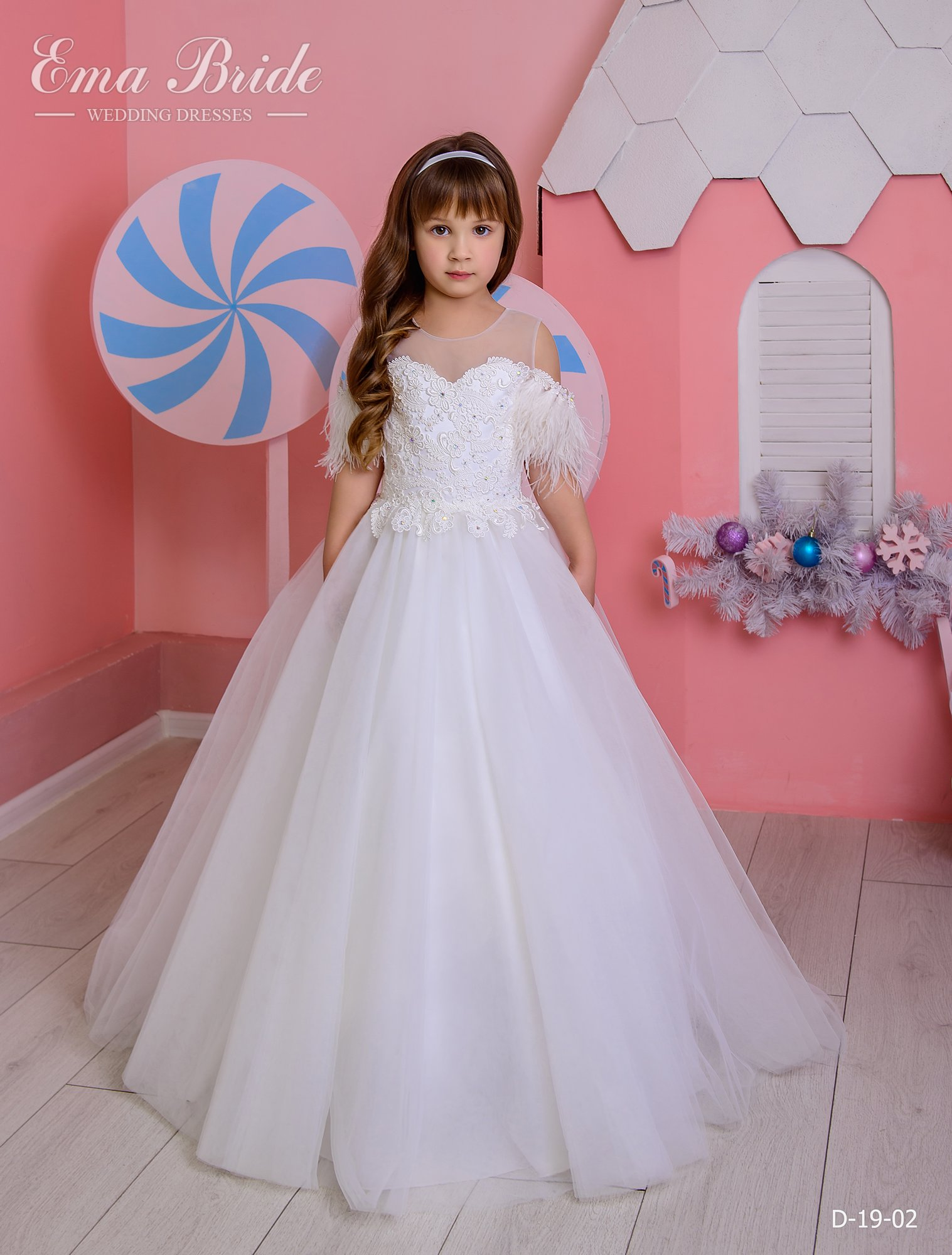 Children's dress by EmaBride D-19-02 2019