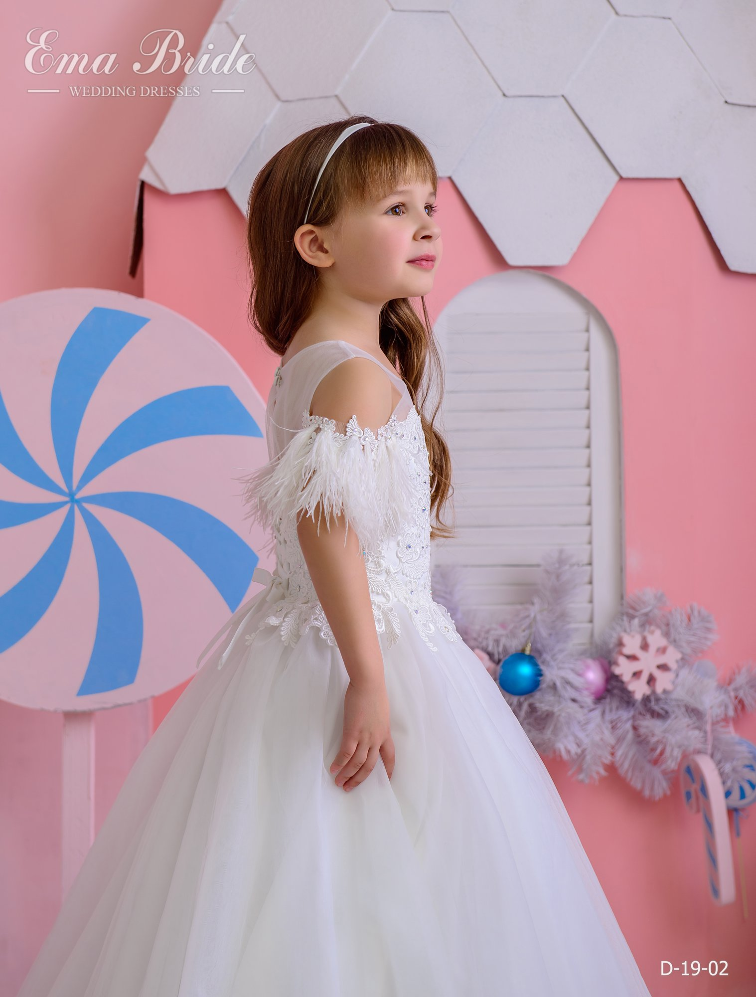 Children's dress by EmaBride D-19-02 2019-3