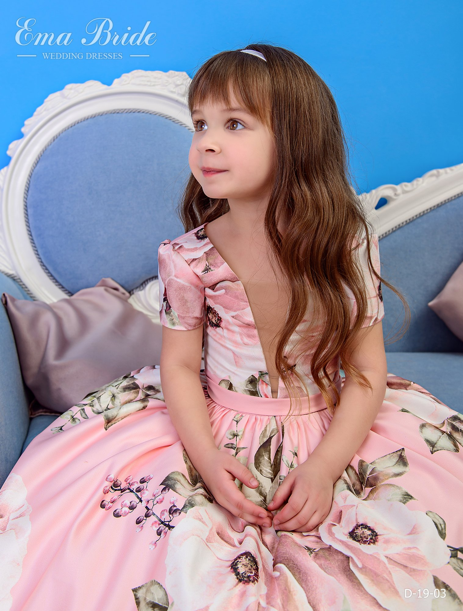 Children's dress by EmaBride D-19-03 2019-1