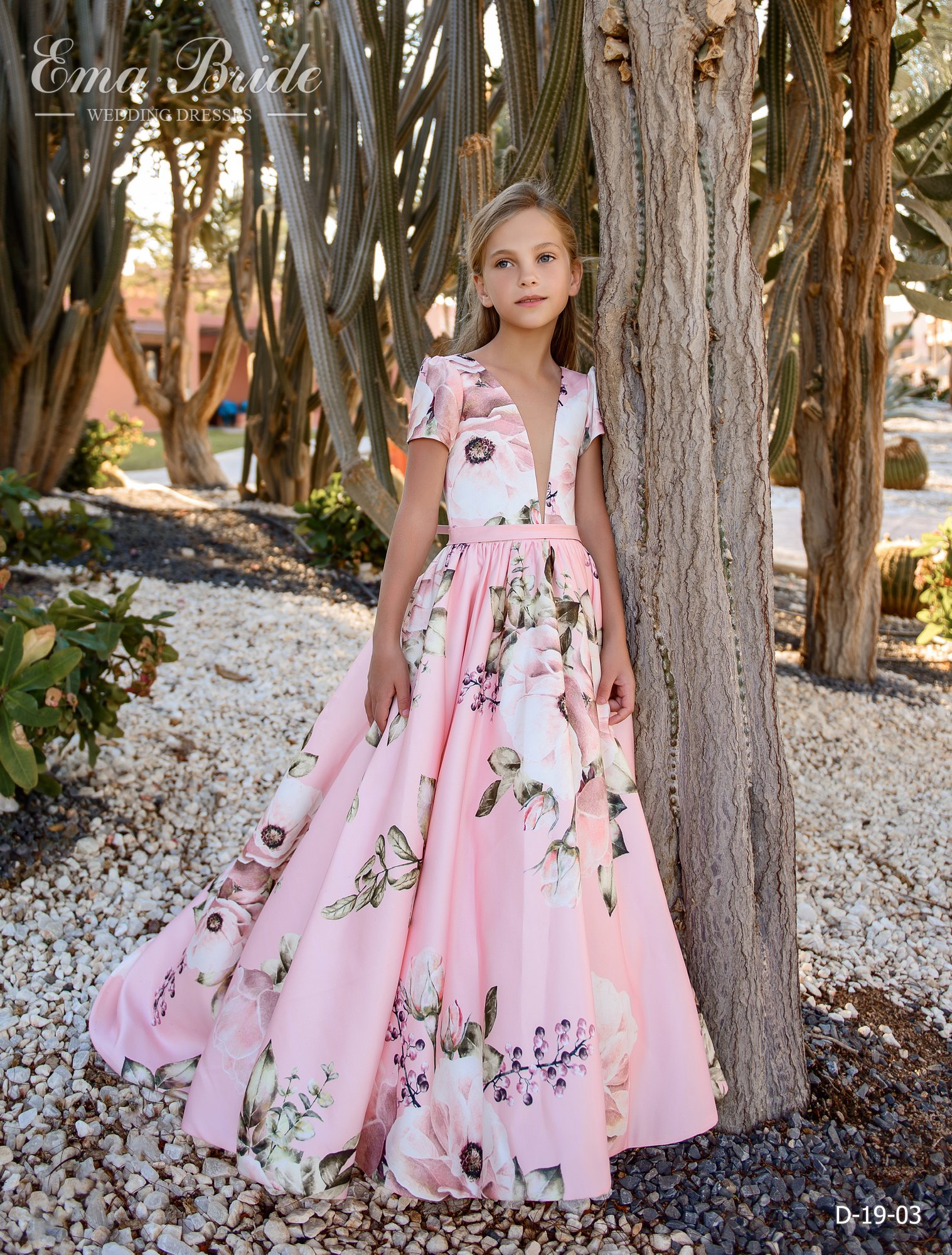 Children's dress by EmaBride D-19-03 2019-4