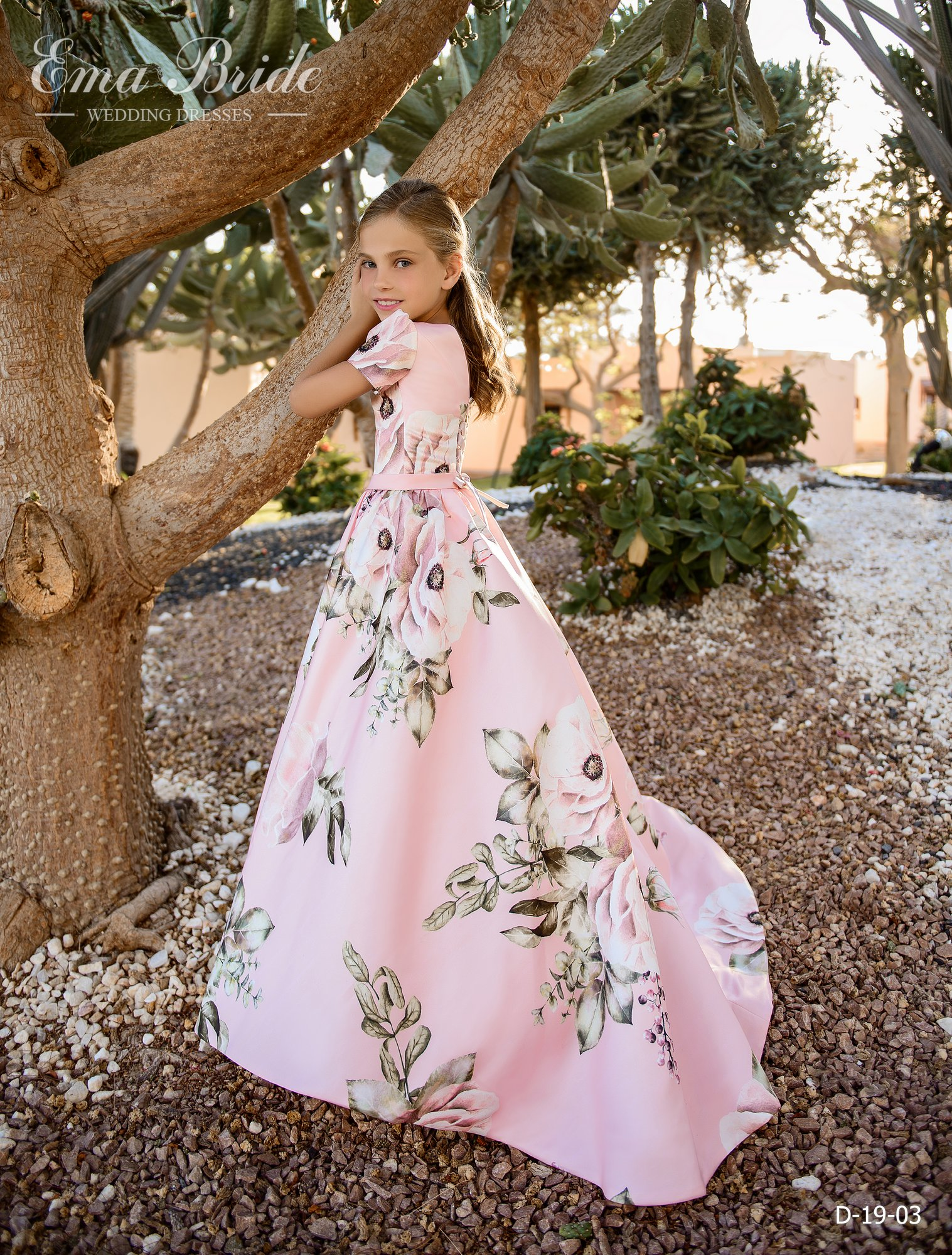 Children's dress by EmaBride D-19-03 2019-5