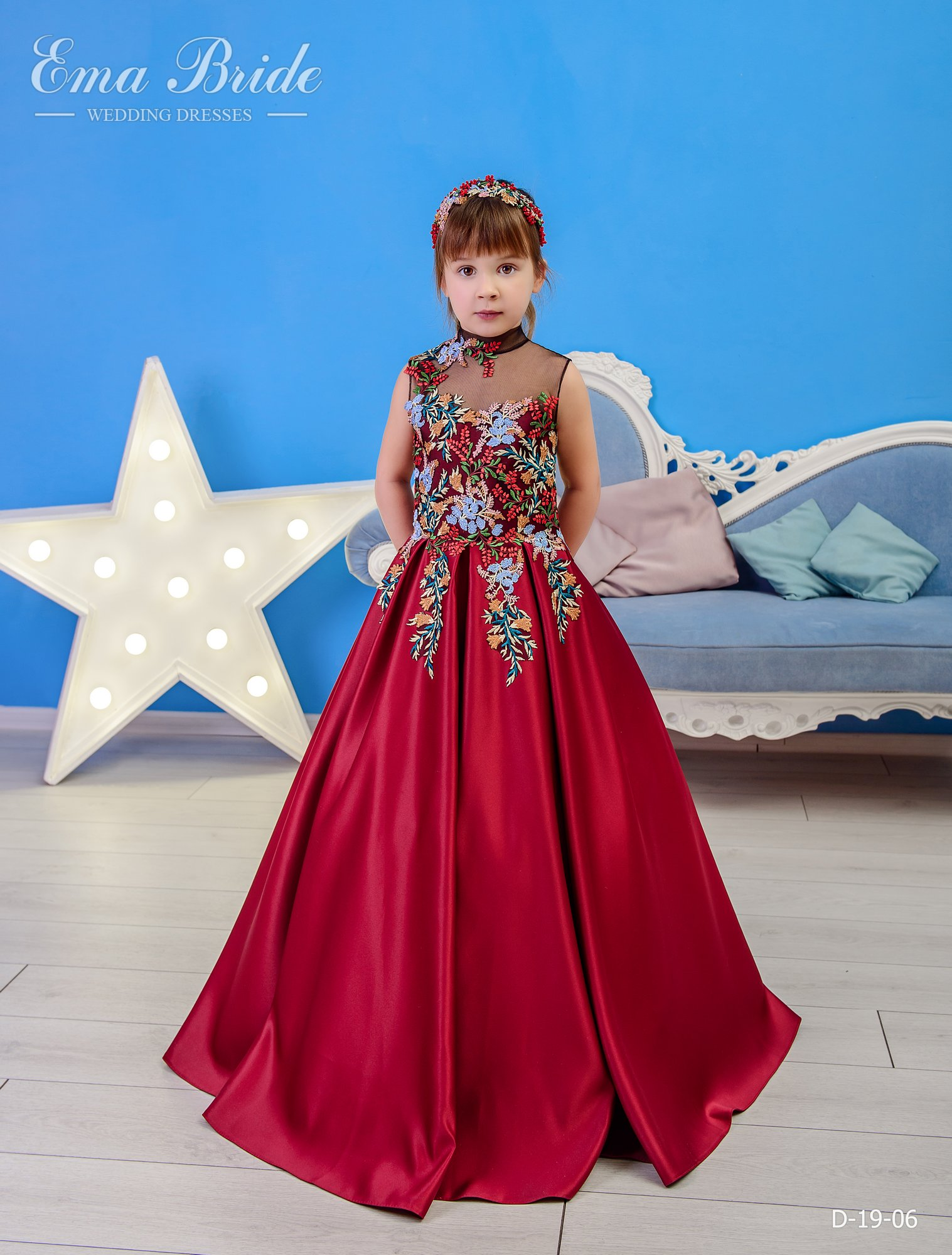 Children's dress by EmaBride D-19-06 2019