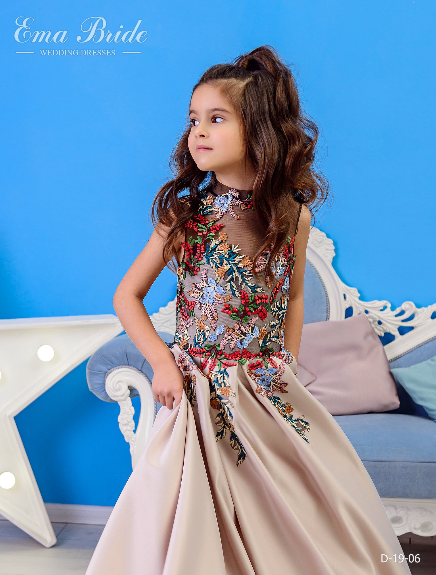 Children's dress by EmaBride D-19-06 2019-4