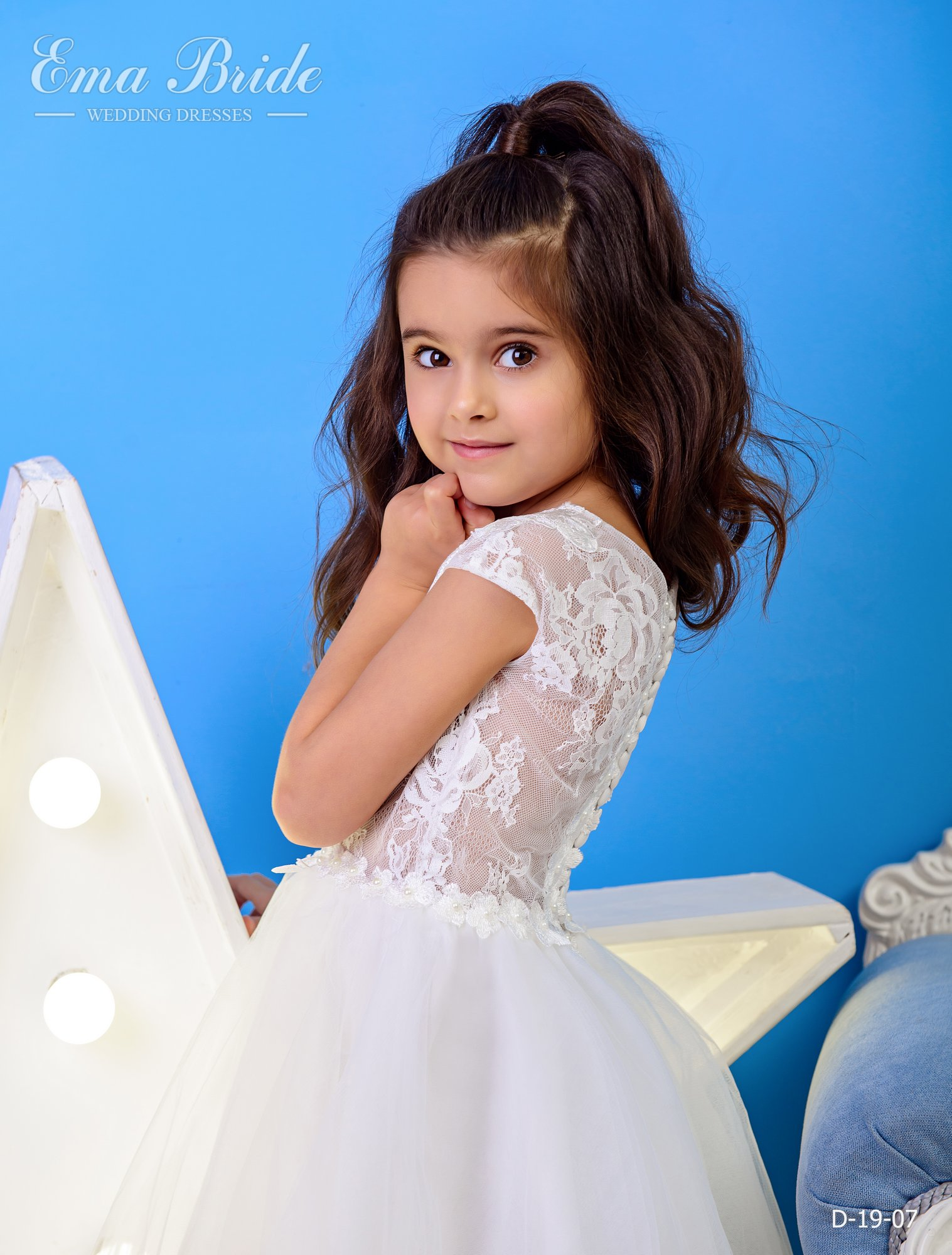 Children's dress by EmaBride D-19-07 2019-3