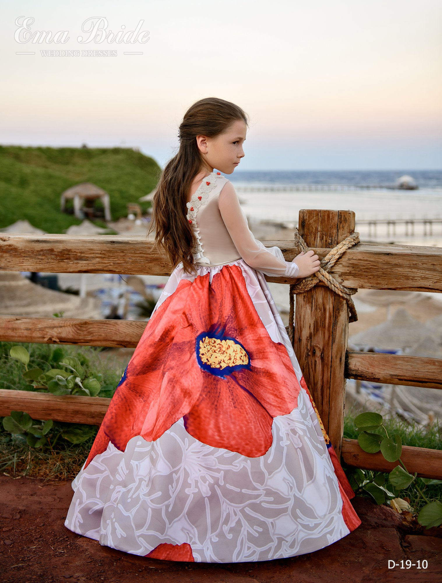 Children's dress by EmaBride D-19-10 2019-3