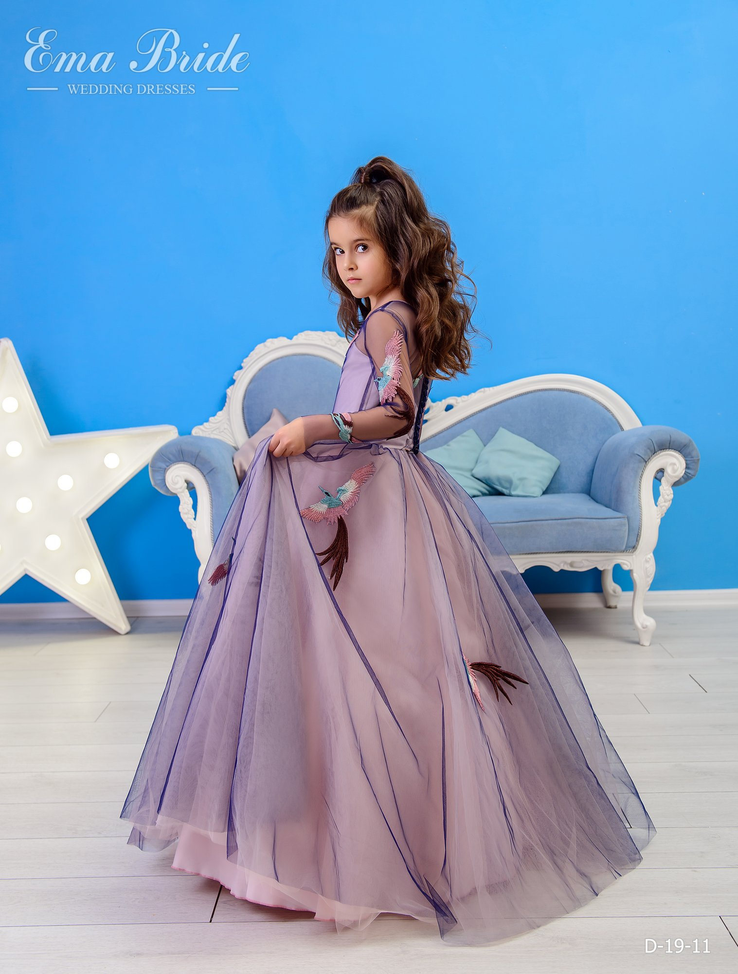 Children's dress by EmaBride D-19-11 2019-3