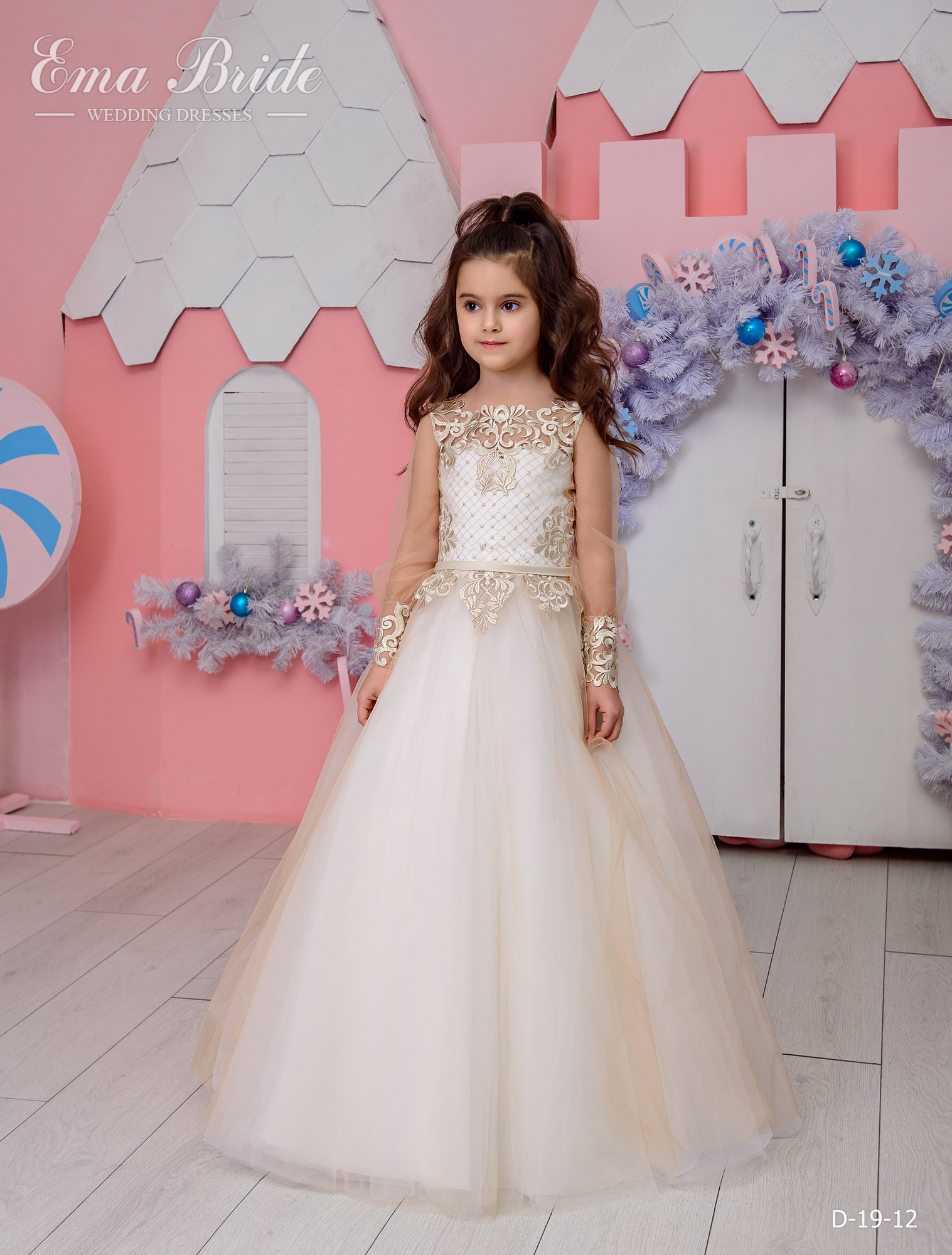 Children's dress by EmaBride D-19-12 2019