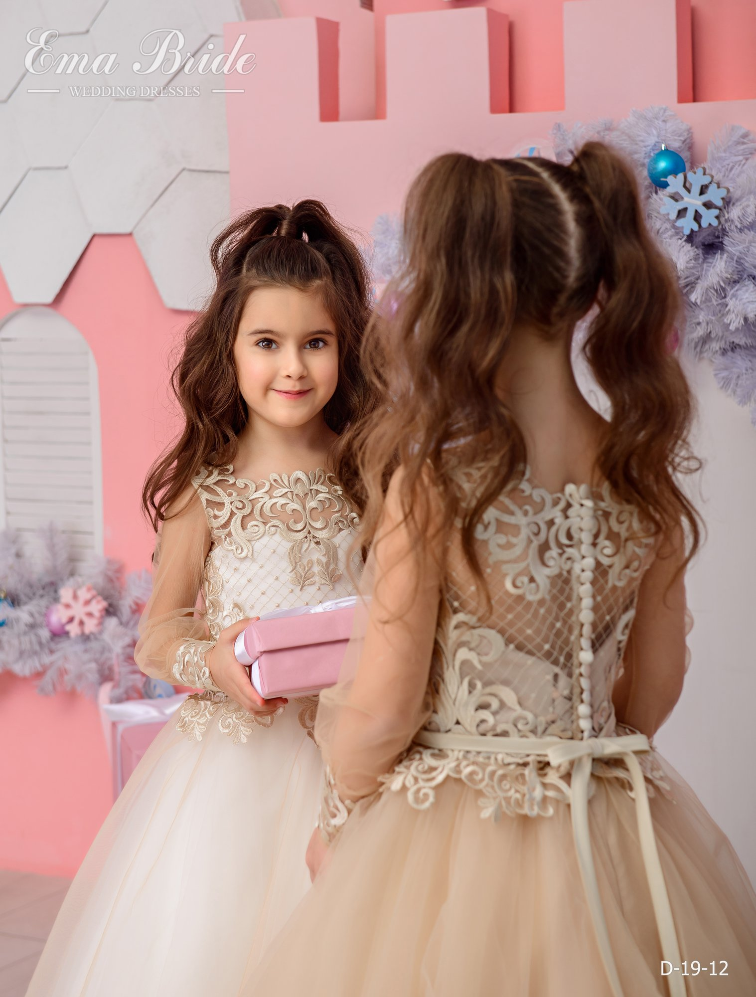 Children's dress by EmaBride D-19-12 2019-3