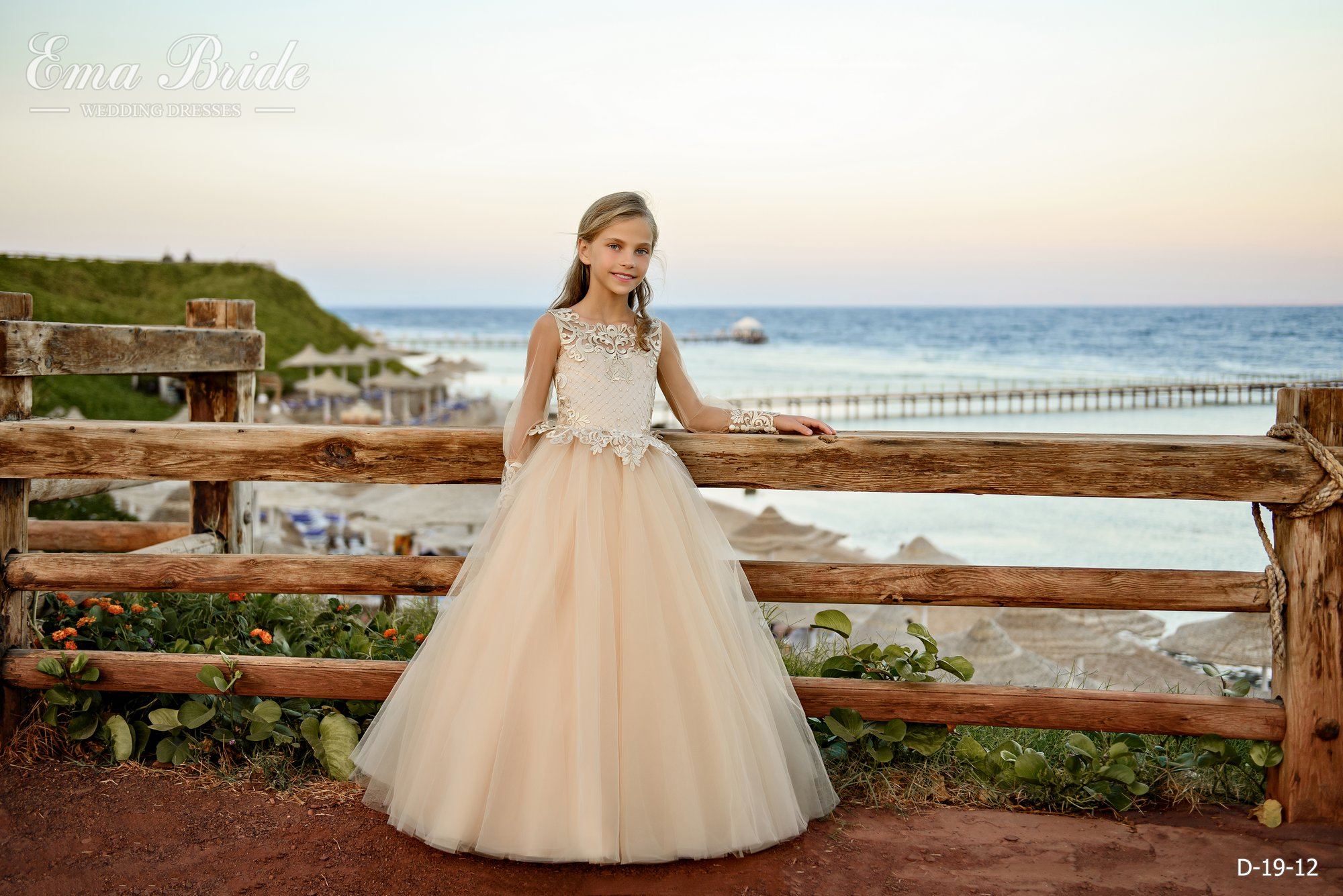 Children's dress by EmaBride D-19-12 2019-4