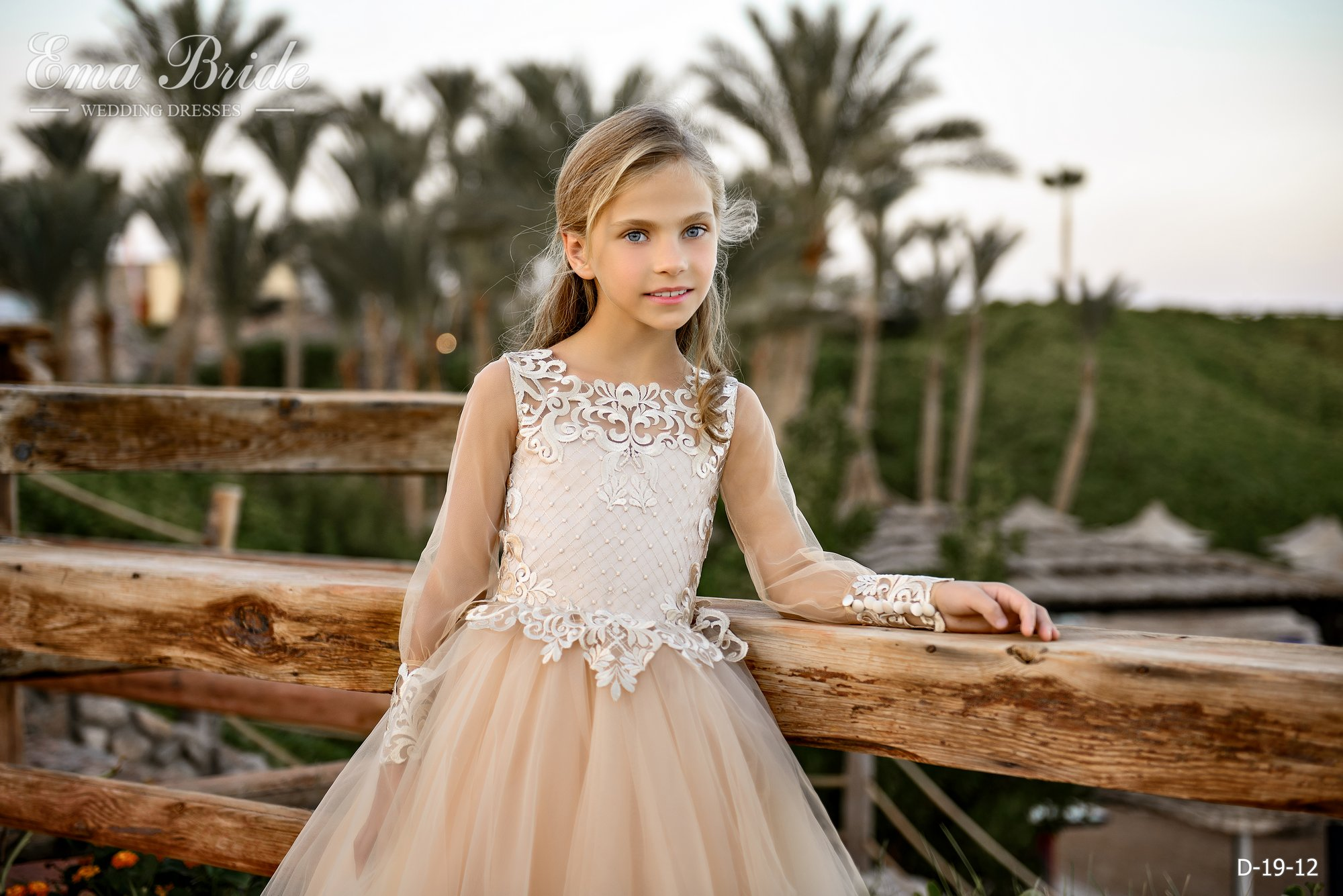 Children's dress by EmaBride D-19-12 2019-5